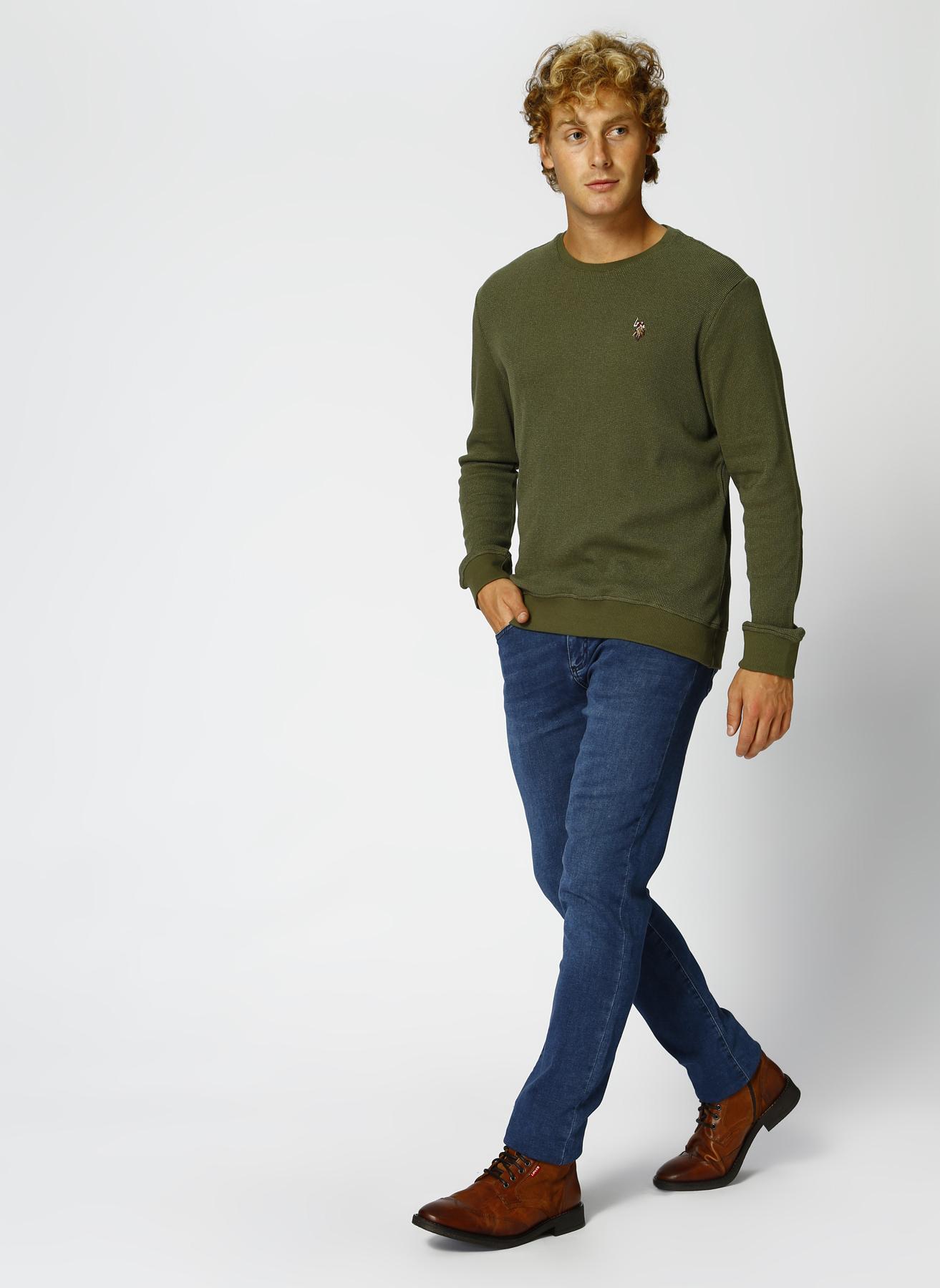 U.S. Polo Assn. Neon Lacivert Denim Pantolon 30-32 5001704832001 Ürün Resmi