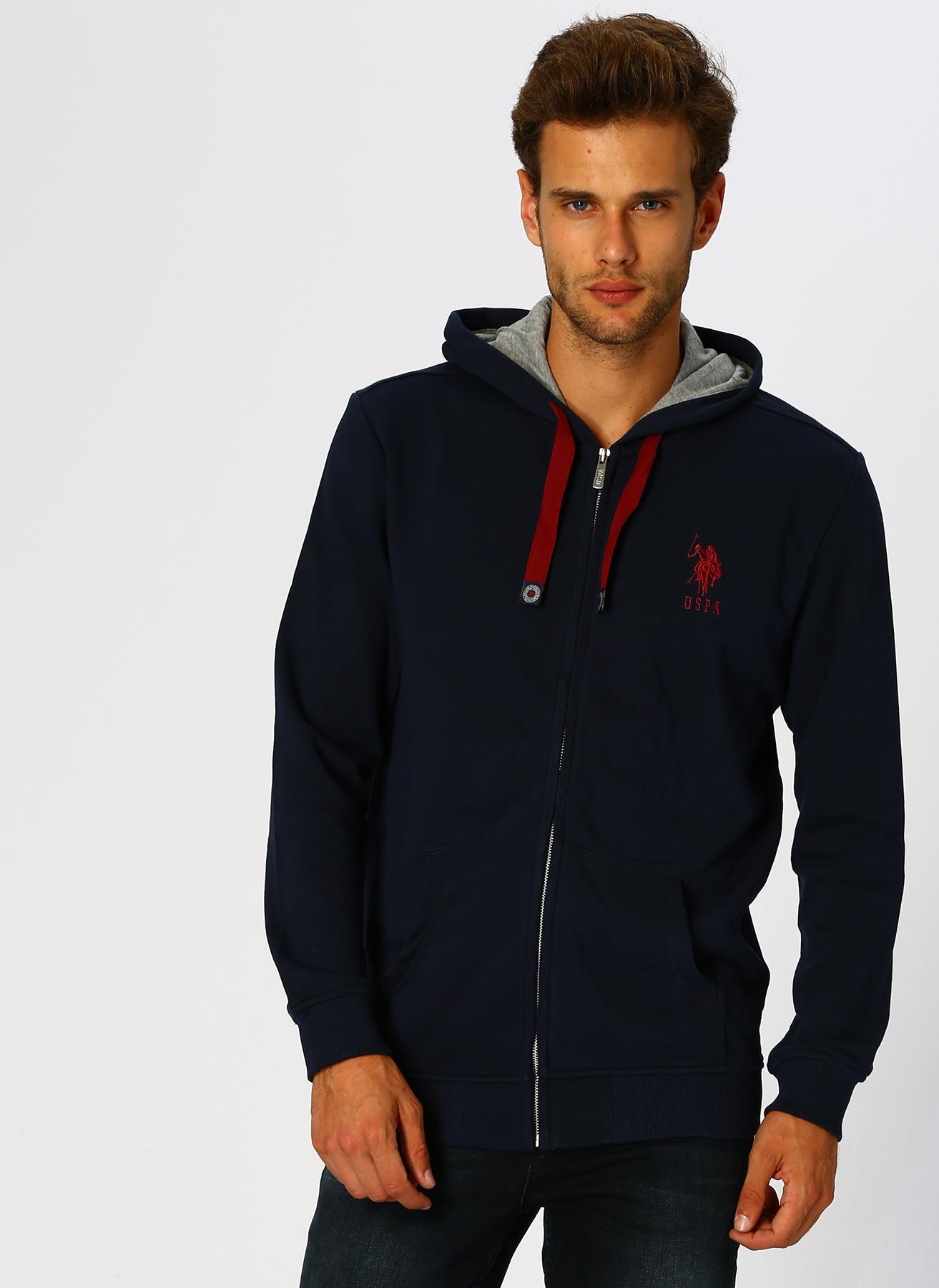U.S. Polo Assn. Lacivert Sweatshirt L 5001704836002 Ürün Resmi