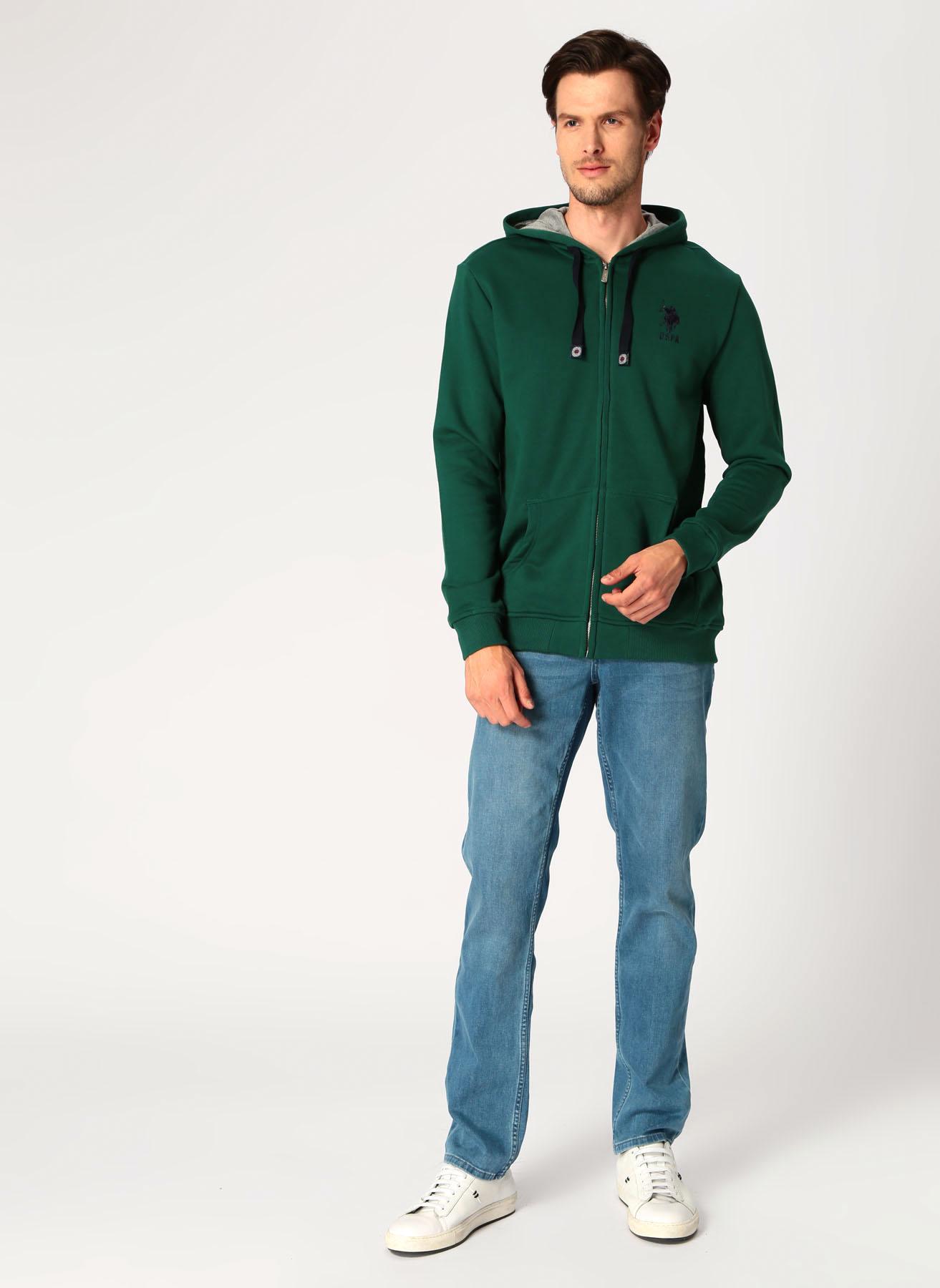 U.S. Polo Assn. Koyu Nefti Sweatshirt S 5001704838001 Ürün Resmi