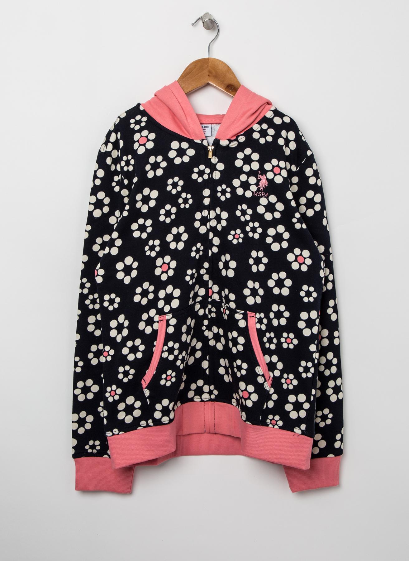 U.S. Polo Assn. Kapüşonlu Sweatshirt 8 Yaş 5001704849010 Ürün Resmi