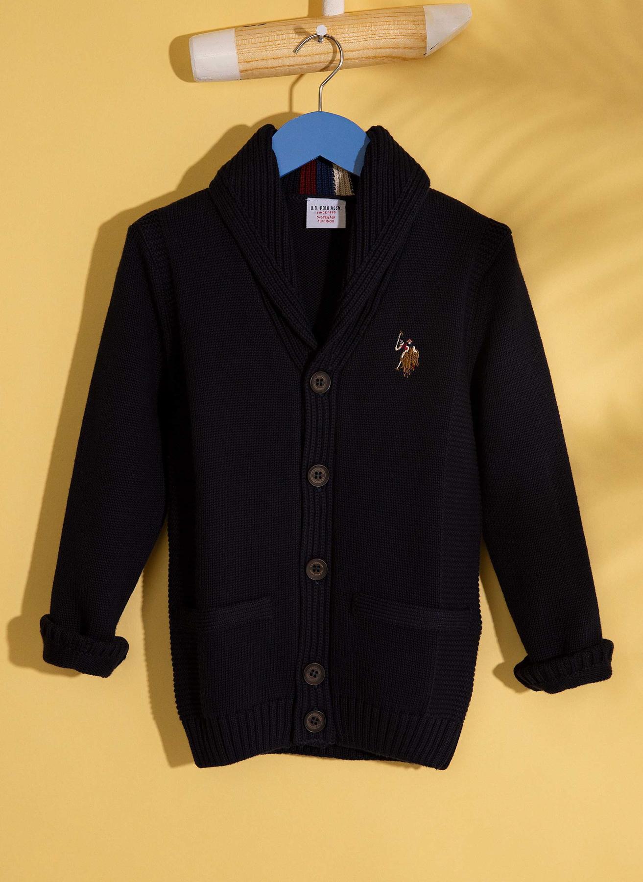 U.S. Polo Assn. Hırka 7 Yaş 5001705111009 Ürün Resmi
