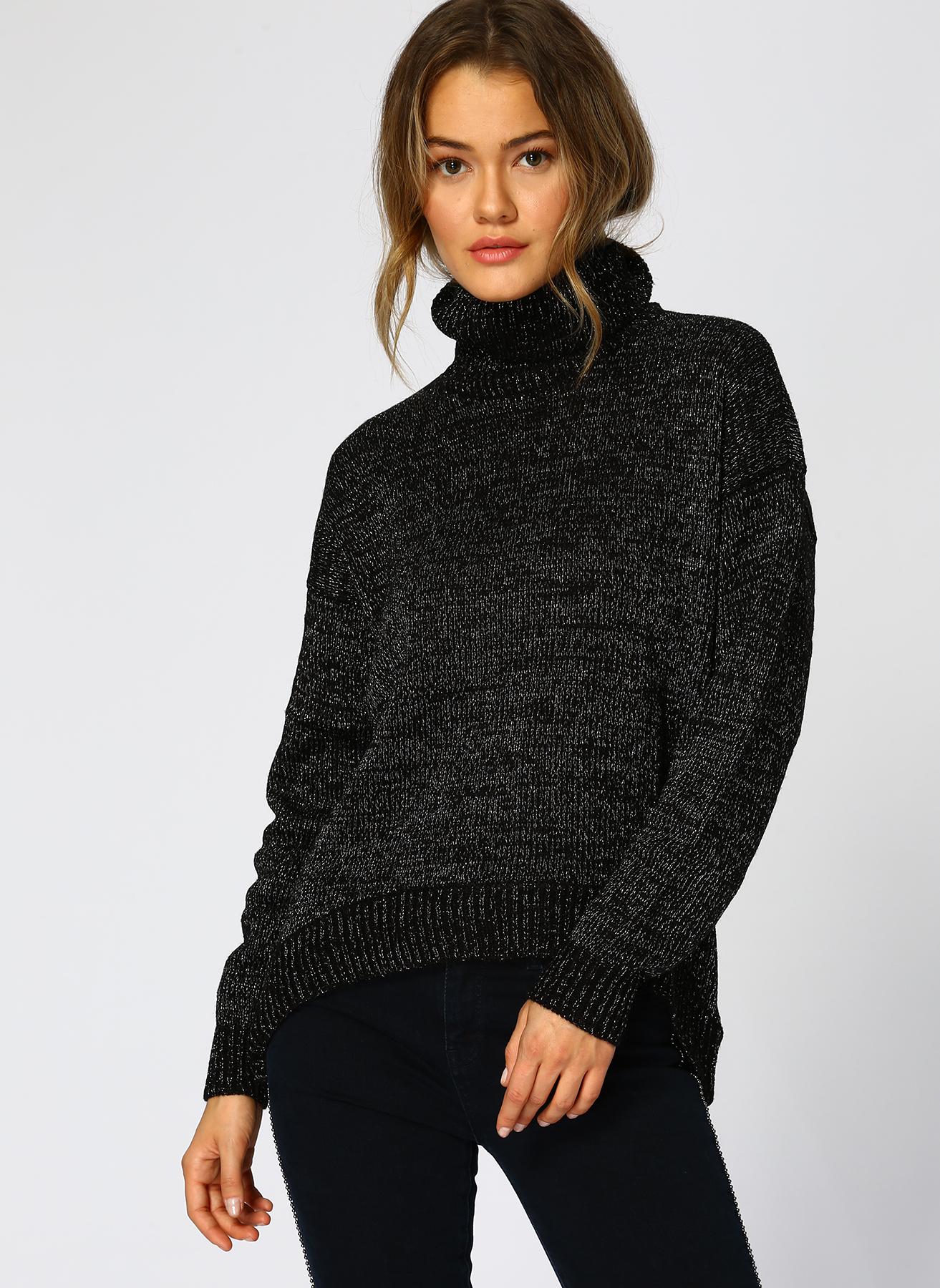 Vero Moda Siyah Kazak M 5001705195002 Ürün Resmi