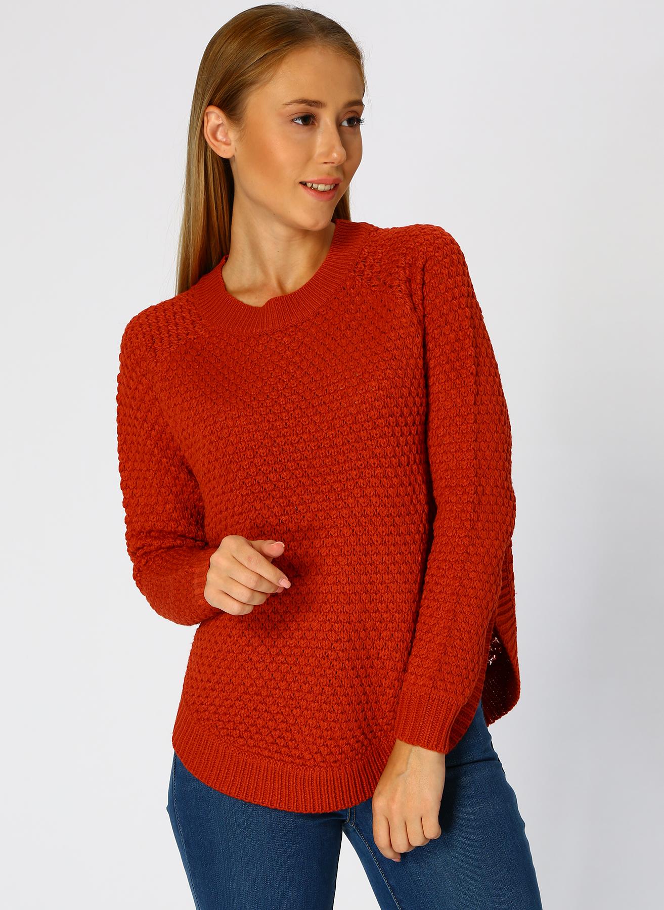 Vero Moda Kırmızı Kazak M 5001705233002 Ürün Resmi