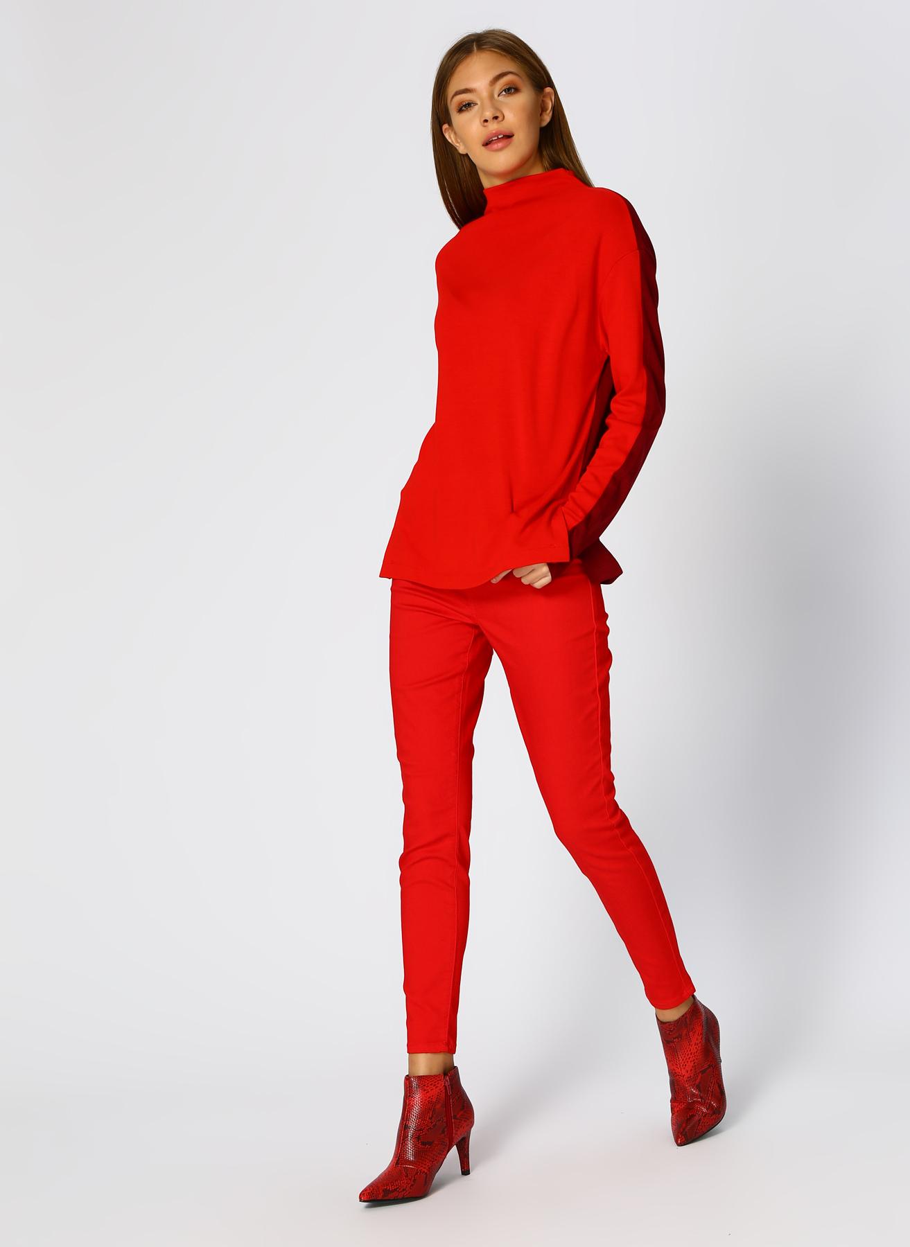 Vero Moda Kırmızı Pantolon L 5001705274001 Ürün Resmi