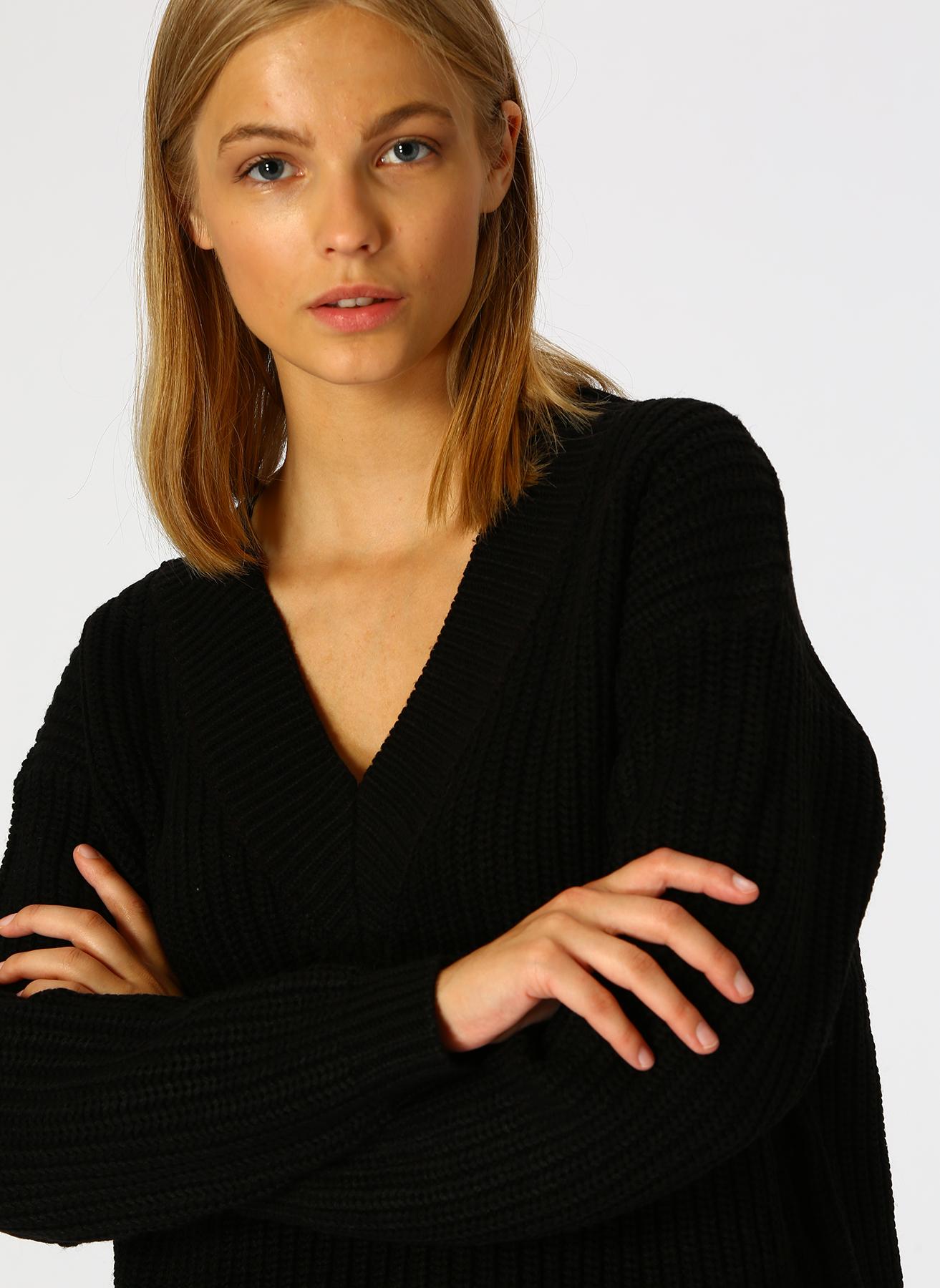Vero Moda Siyah Kazak XL 5001705291004 Ürün Resmi