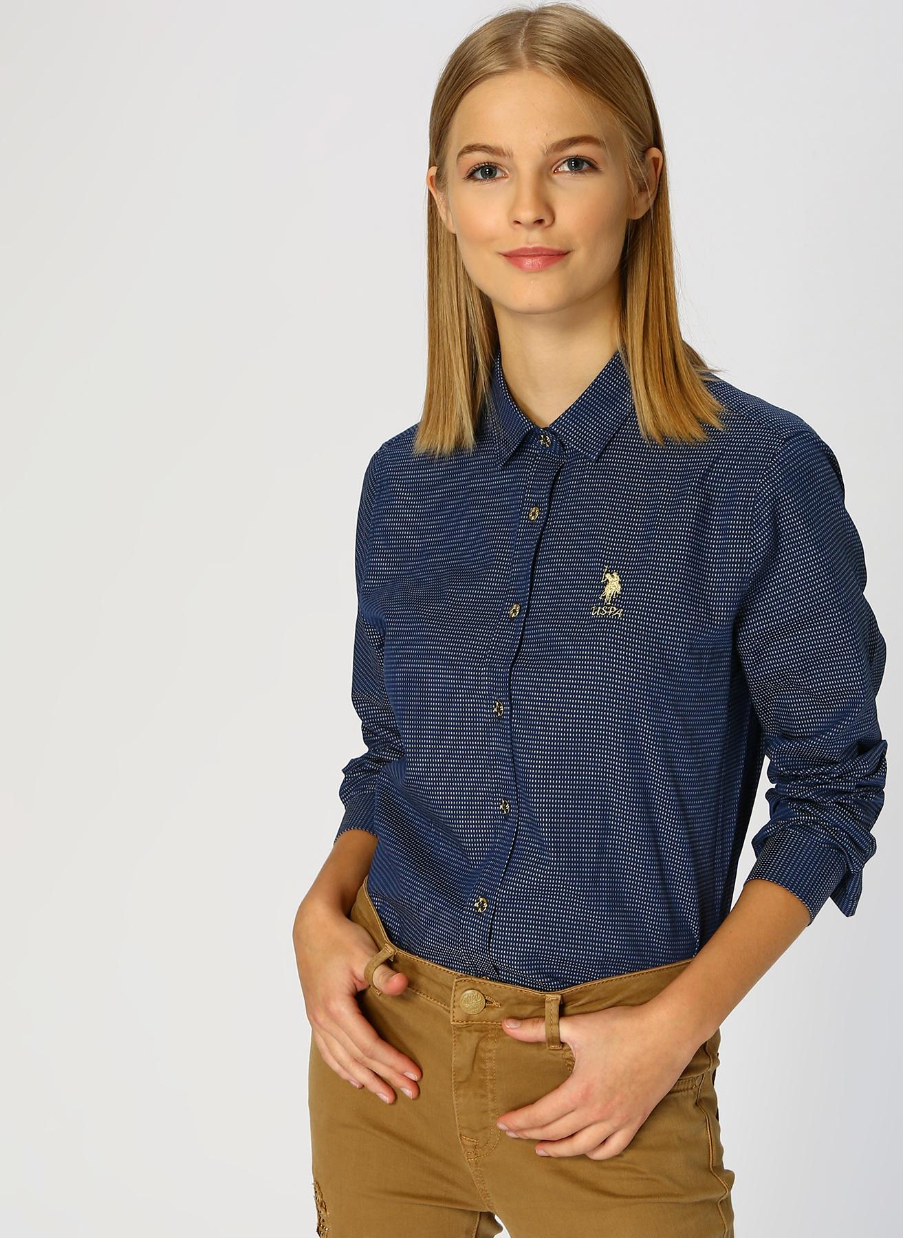 U.S. Polo Assn. Koyu Lacivert Gömlek 40 5001733290005 Ürün Resmi