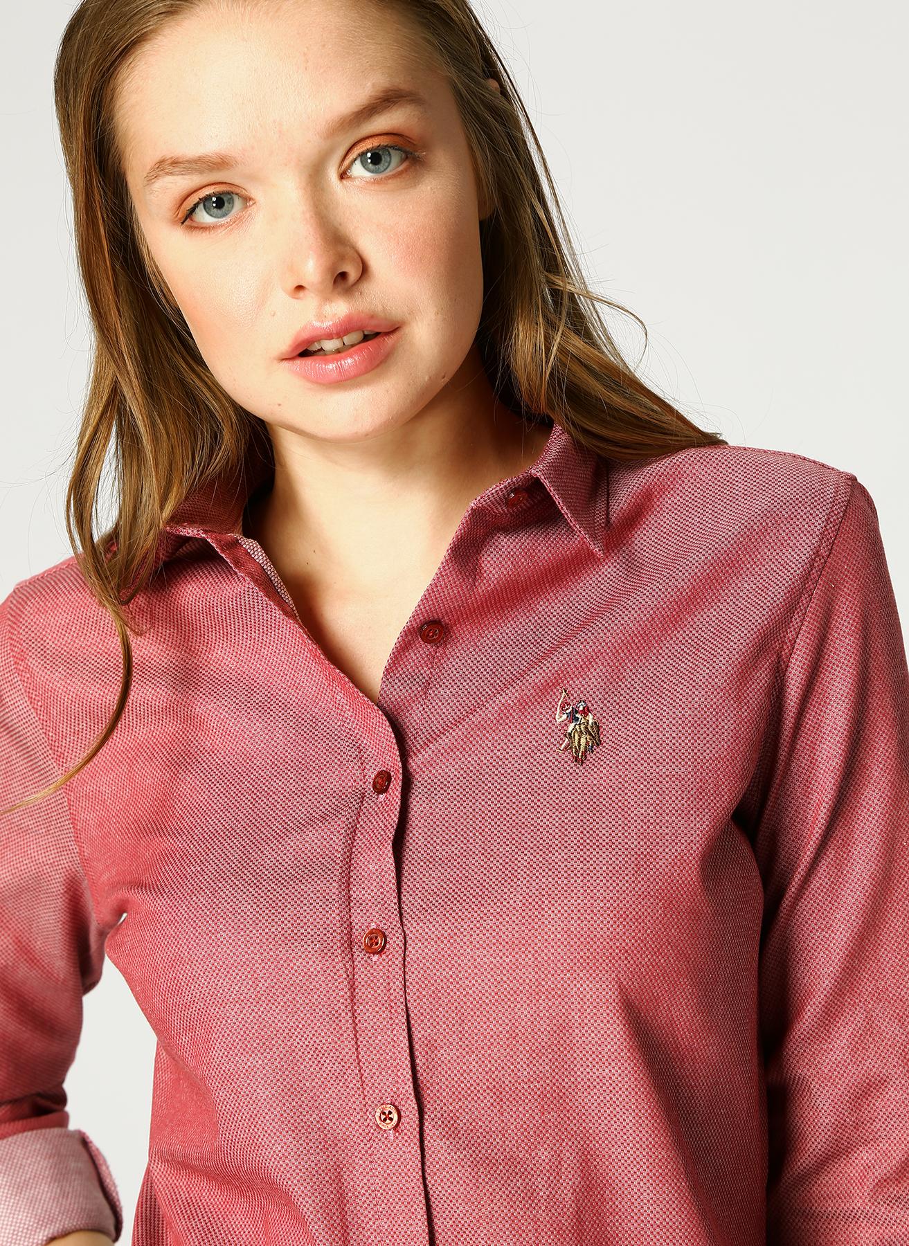U.S. Polo Assn. Bordo Gömlek 34 5001733328005 Ürün Resmi