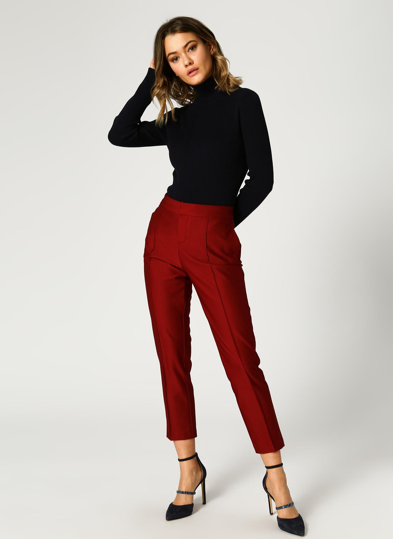 U.S. Polo Assn. Fitilli Kırmızı Pantolon 42 5001733352002 Ürün Resmi