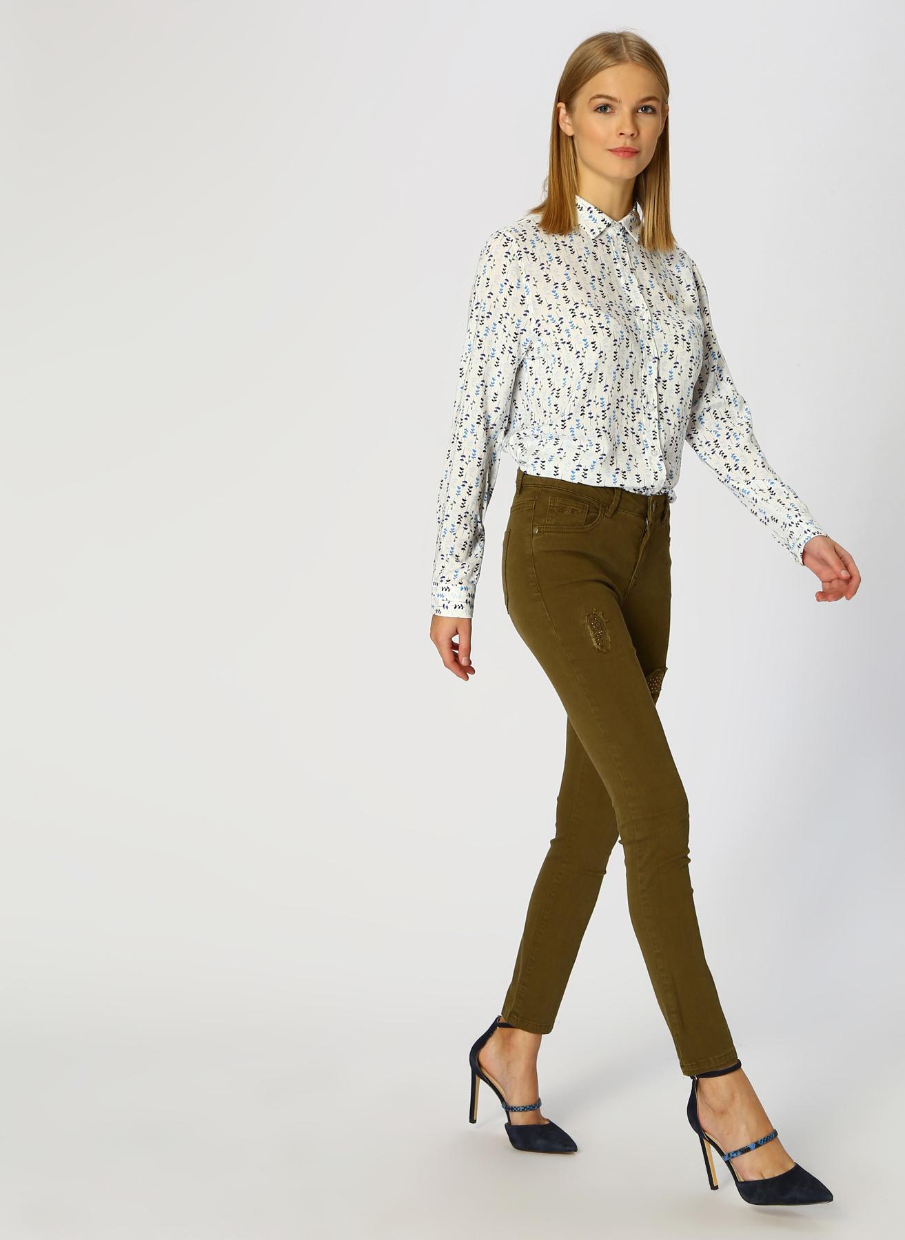 U.S. Polo Assn. Haki Pantolon 44 5001733361001 Ürün Resmi