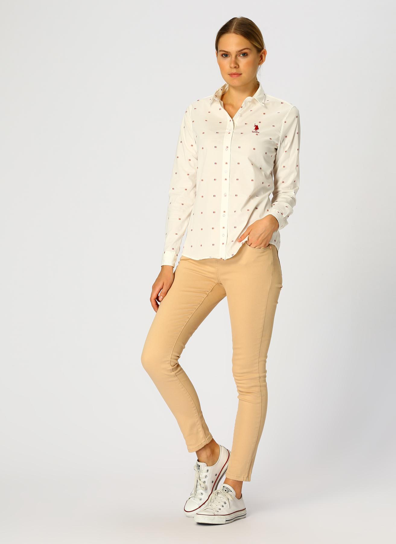 U.S. Polo Assn. Ekru Pantolon 42 5001733365005 Ürün Resmi