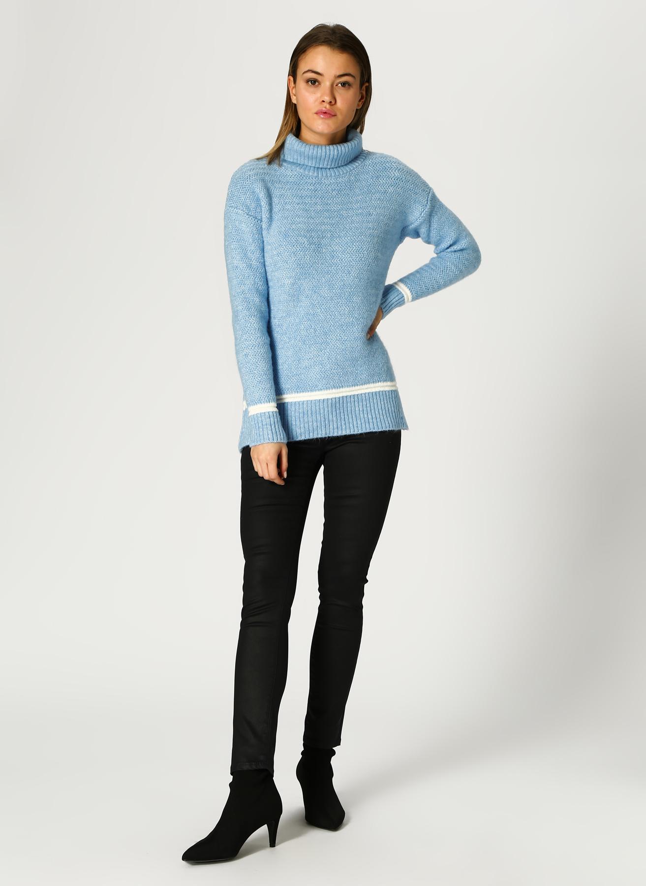 U.S. Polo Assn. Deri Görünümlü Siyah Pantolon 38 5001733409002 Ürün Resmi