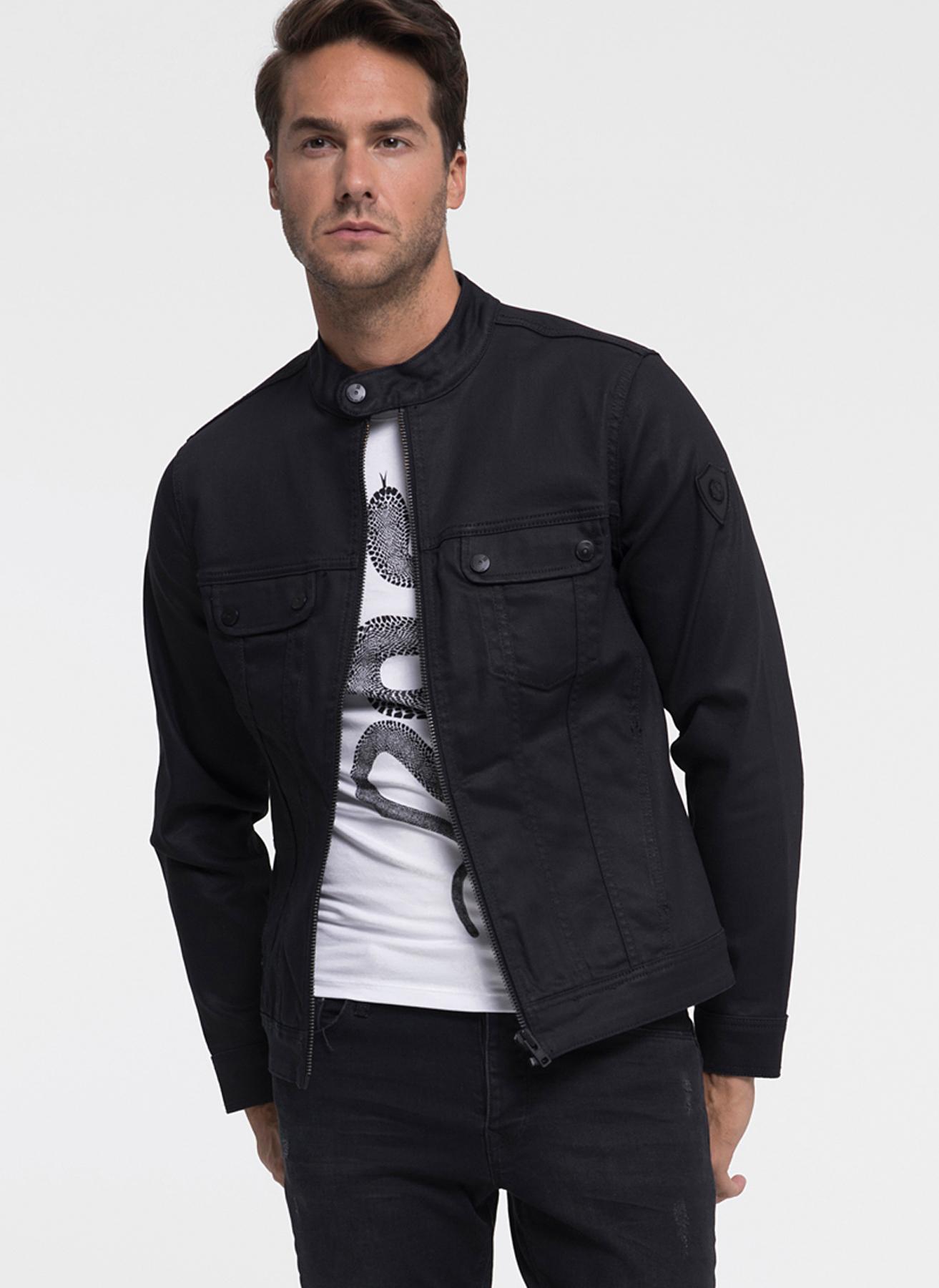 Loft Dik Yaka Siyah Ceket XL 5001733899004 Ürün Resmi