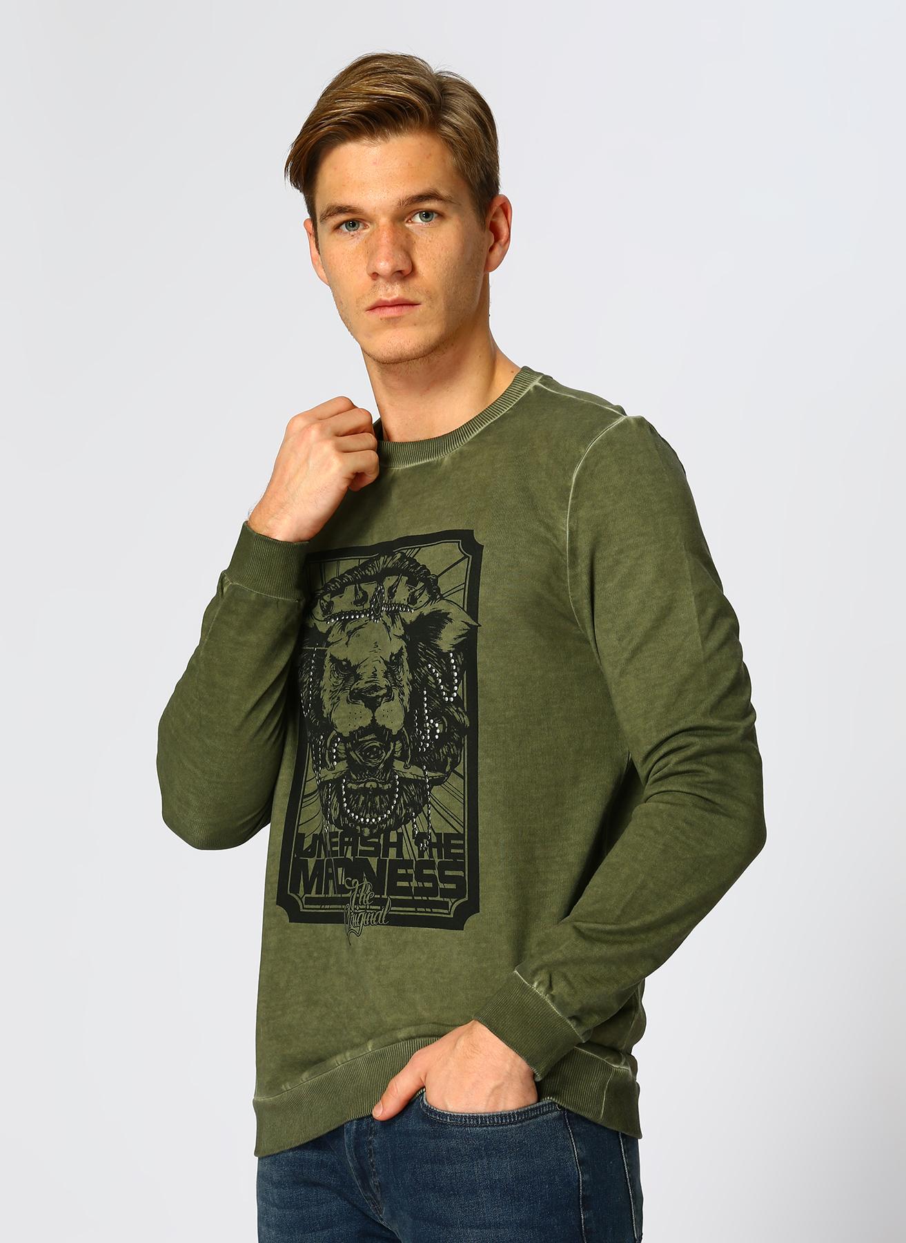 Loft Yeşil Sweatshirt XL 5001734058004 Ürün Resmi