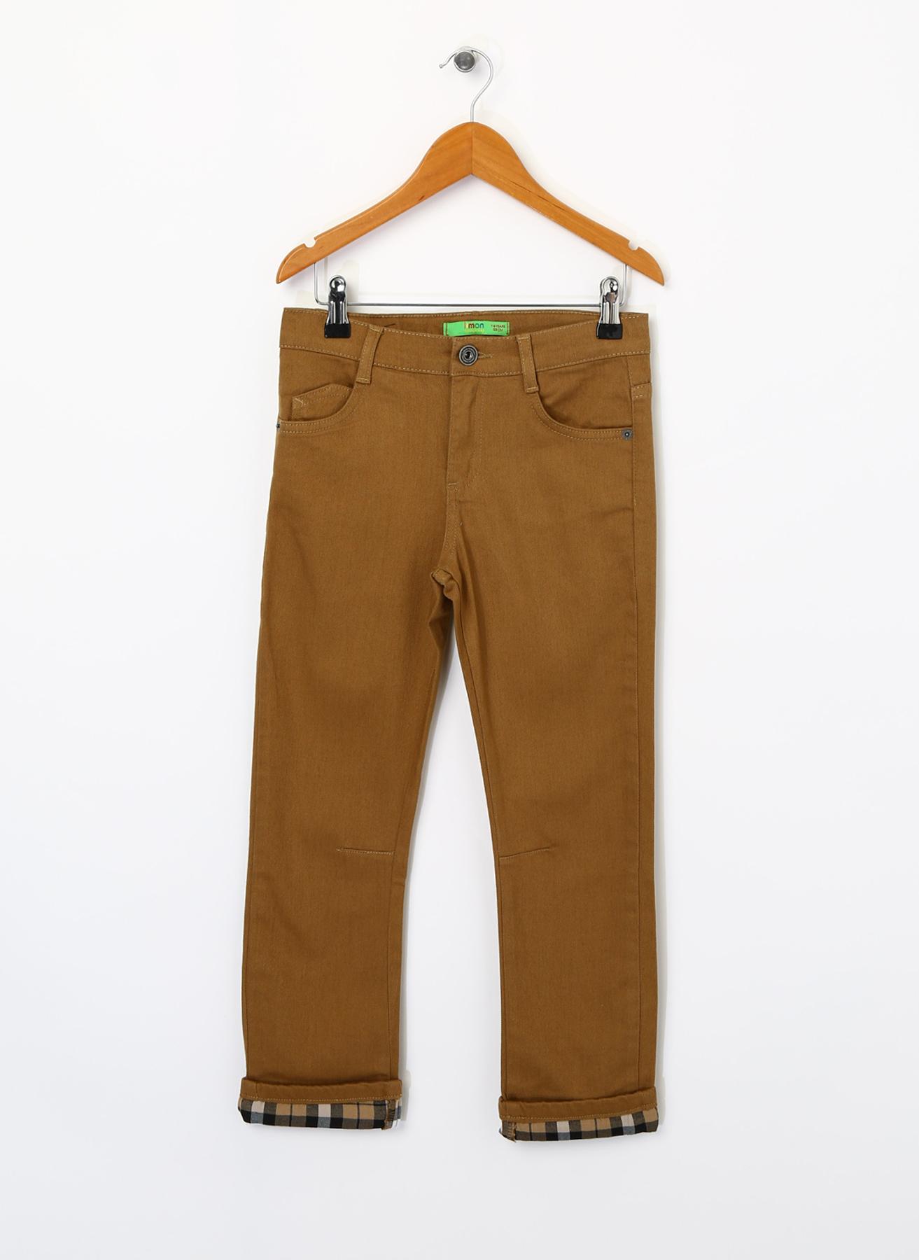 Limon Kahverengi Pantolon 4 Yaş 5001734127002 Ürün Resmi
