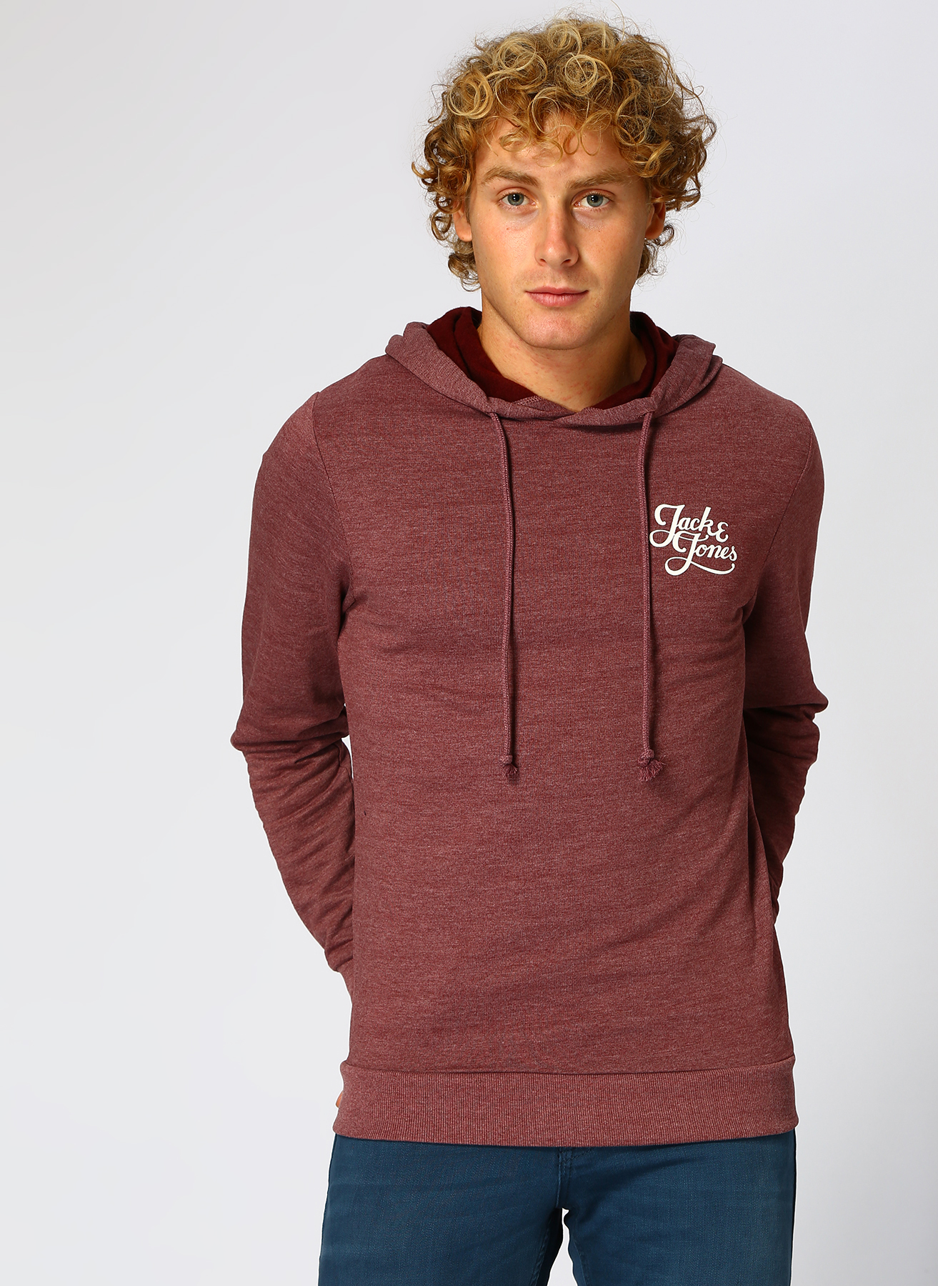 Jack & Jones Galions Sweat Hood Brushed Sweatshirt XL 5001752905004 Ürün Resmi
