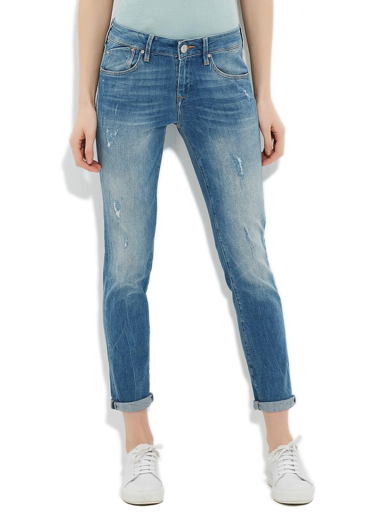 Mavi Paça Detaylı Jean Denim Pantolon 26-27 5001810449005 Ürün Resmi