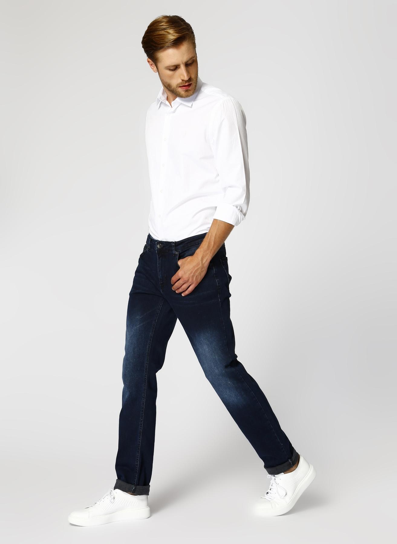 George Hogg Lacivert Denim Pantolon 38 5001822561001 Ürün Resmi