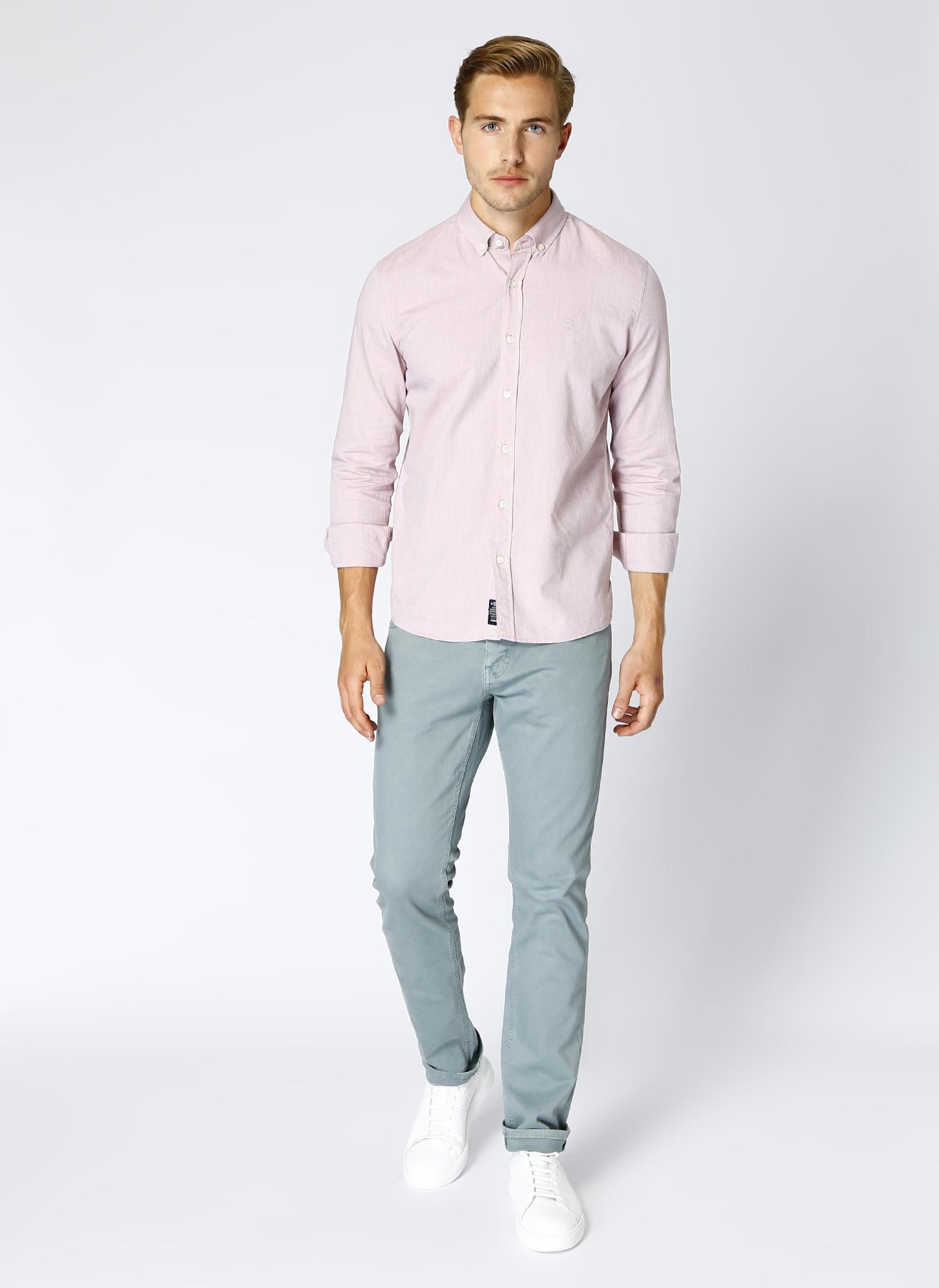 Mavi Slim Fit Yeşil Klasik Pantolon 31-34 5001822966024 Ürün Resmi