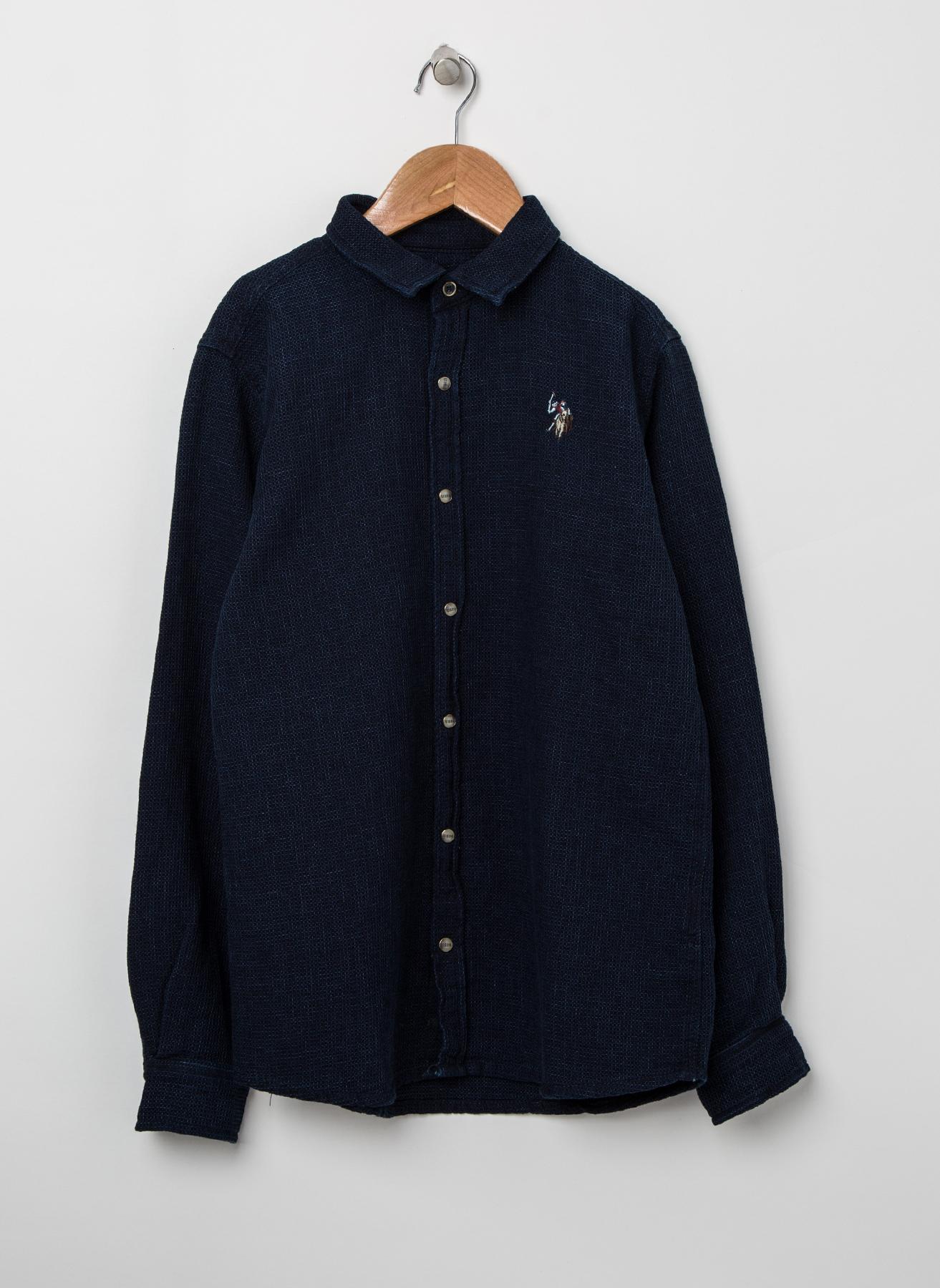 U.S. Polo Assn. Lacivert Gömlek 5 Yaş 5001823792006 Ürün Resmi
