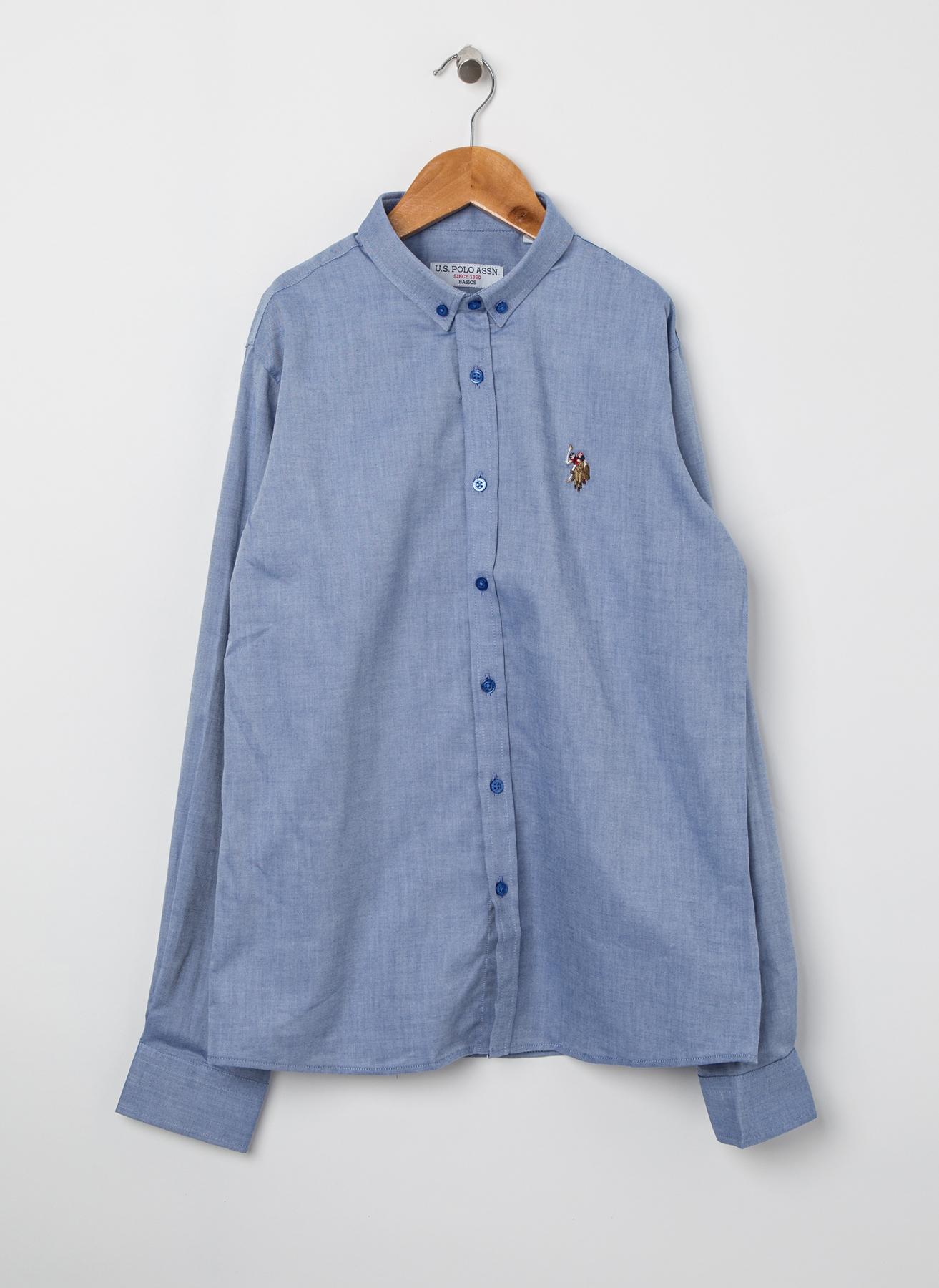 U.S. Polo Assn. Saks Gömlek 60 5001823809001 Ürün Resmi