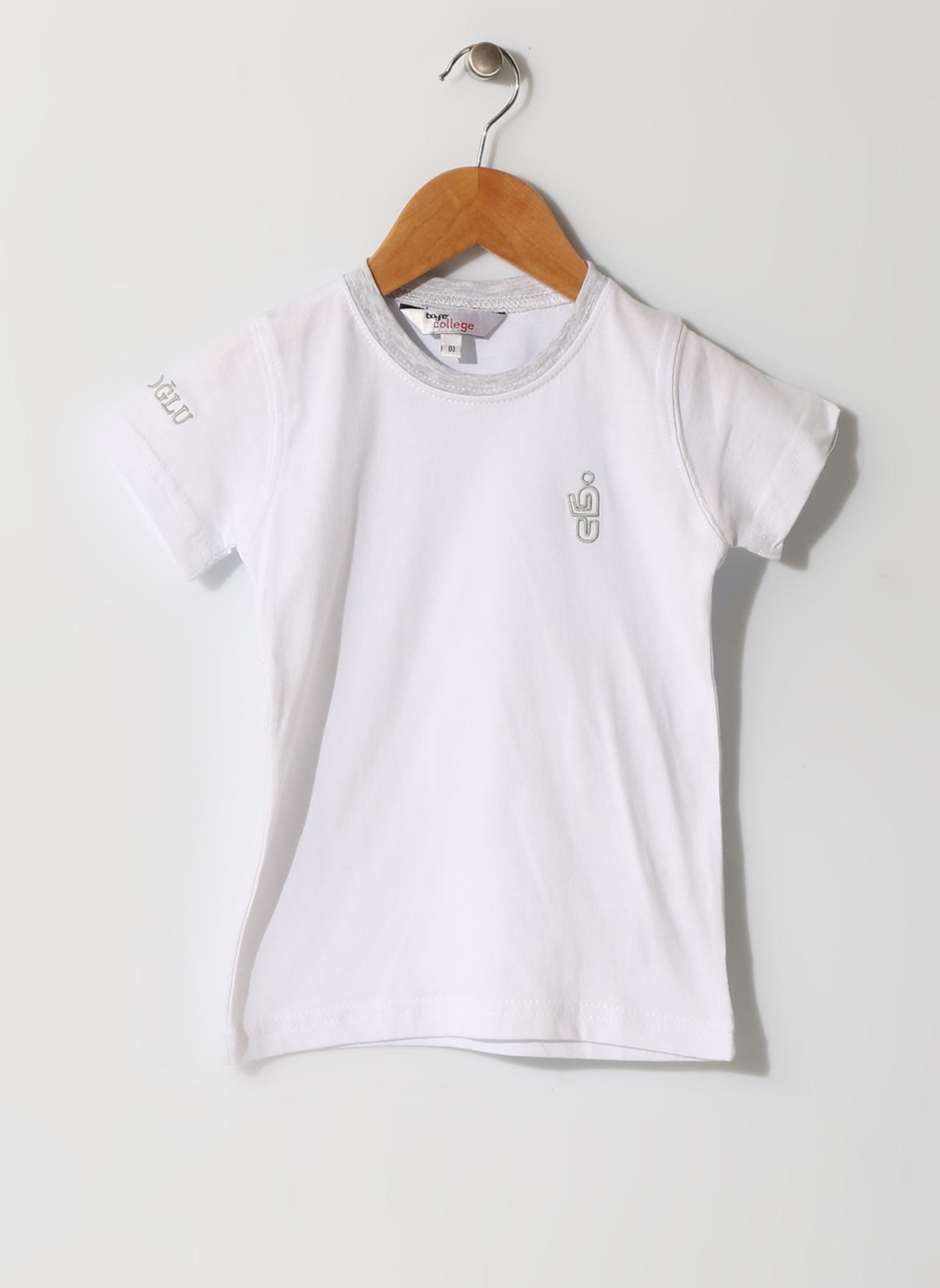 Eyüboğlu Beyaz Bebek T-Shırt 10 Yaş 5001881598010 Ürün Resmi