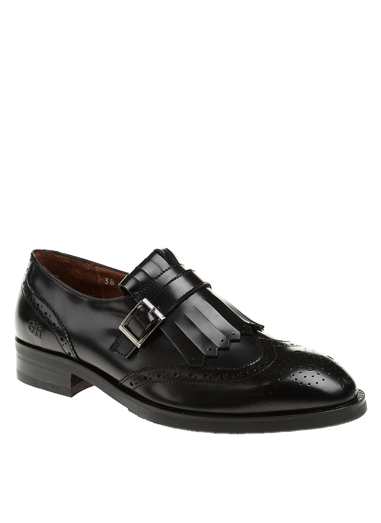 George Hogg Erkek Oxford Deri Düz Ayakkabı 38 5001908436003 Ürün Resmi