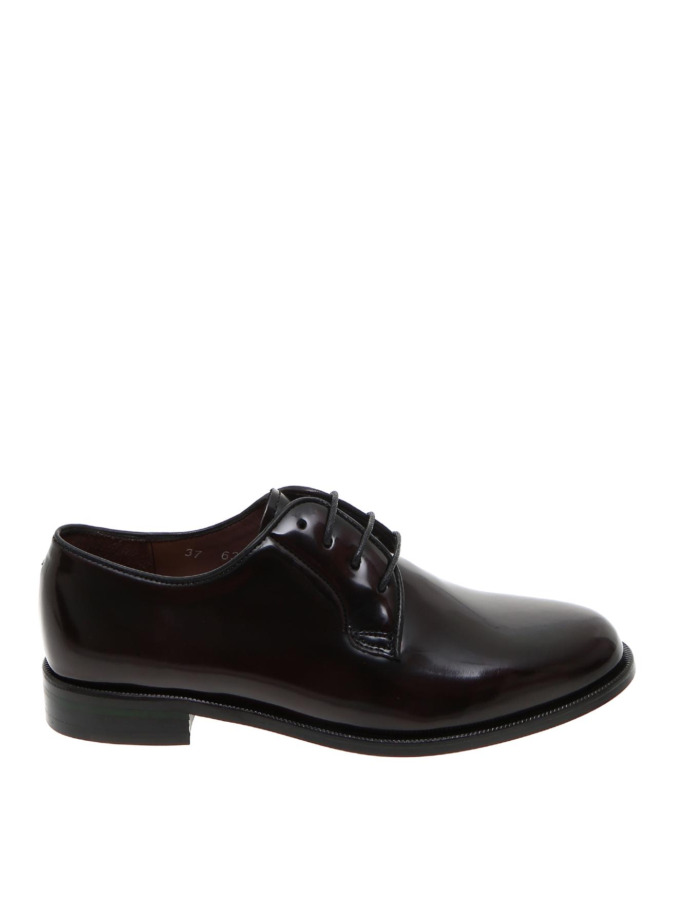 George Hogg Kadın Bordo Deri Düz Ayakkabı 37 5001909204002 Ürün Resmi
