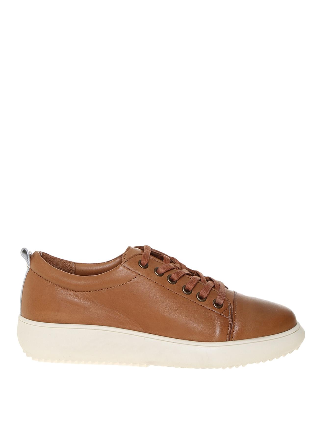 Penford Kadın Deri Taba Düz Ayakkabı 36 5001909803001 Ürün Resmi