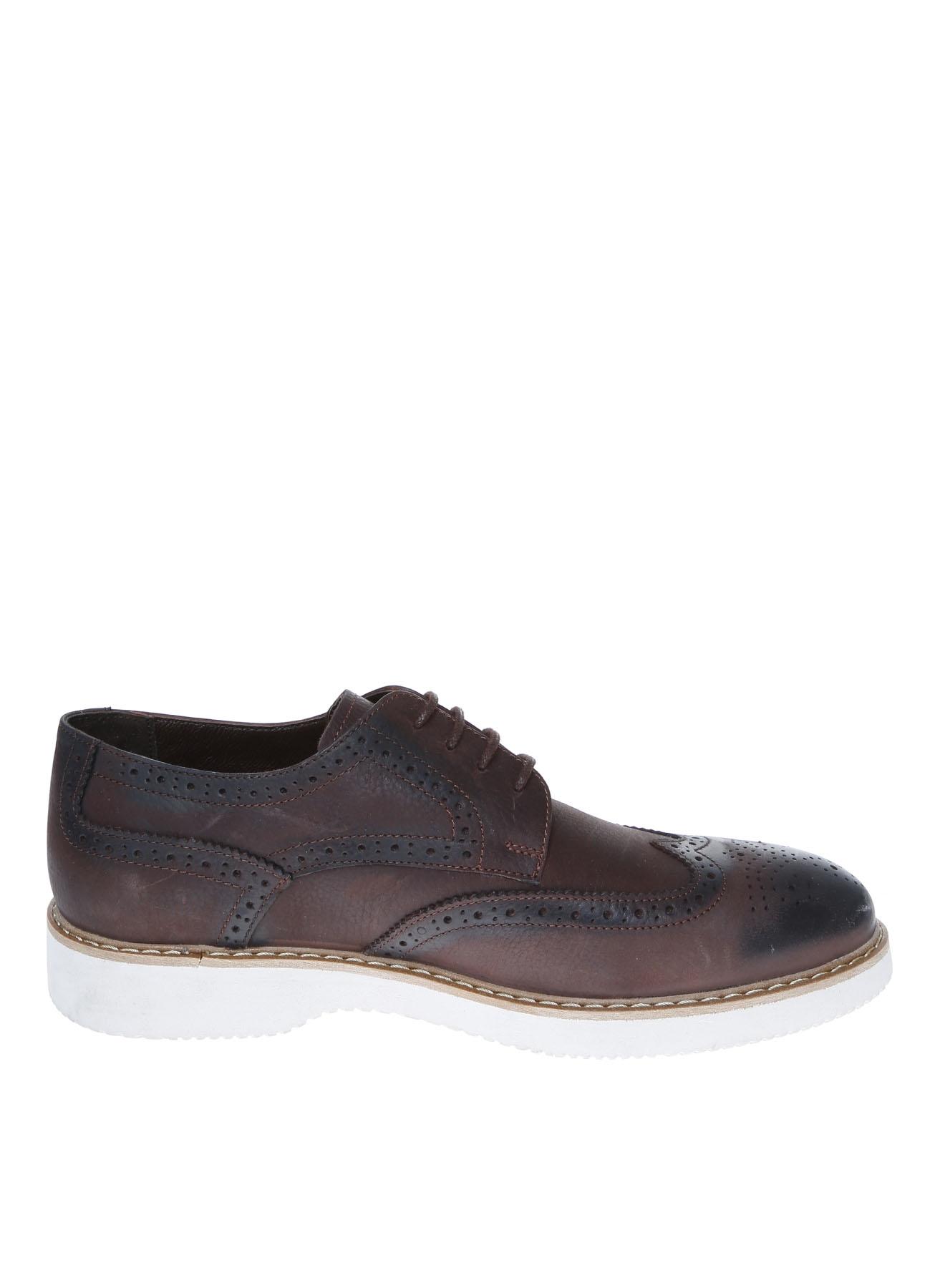44 Kahve Fabrika Klasik Ayakkabı 5001909945005 & Çanta Erkek