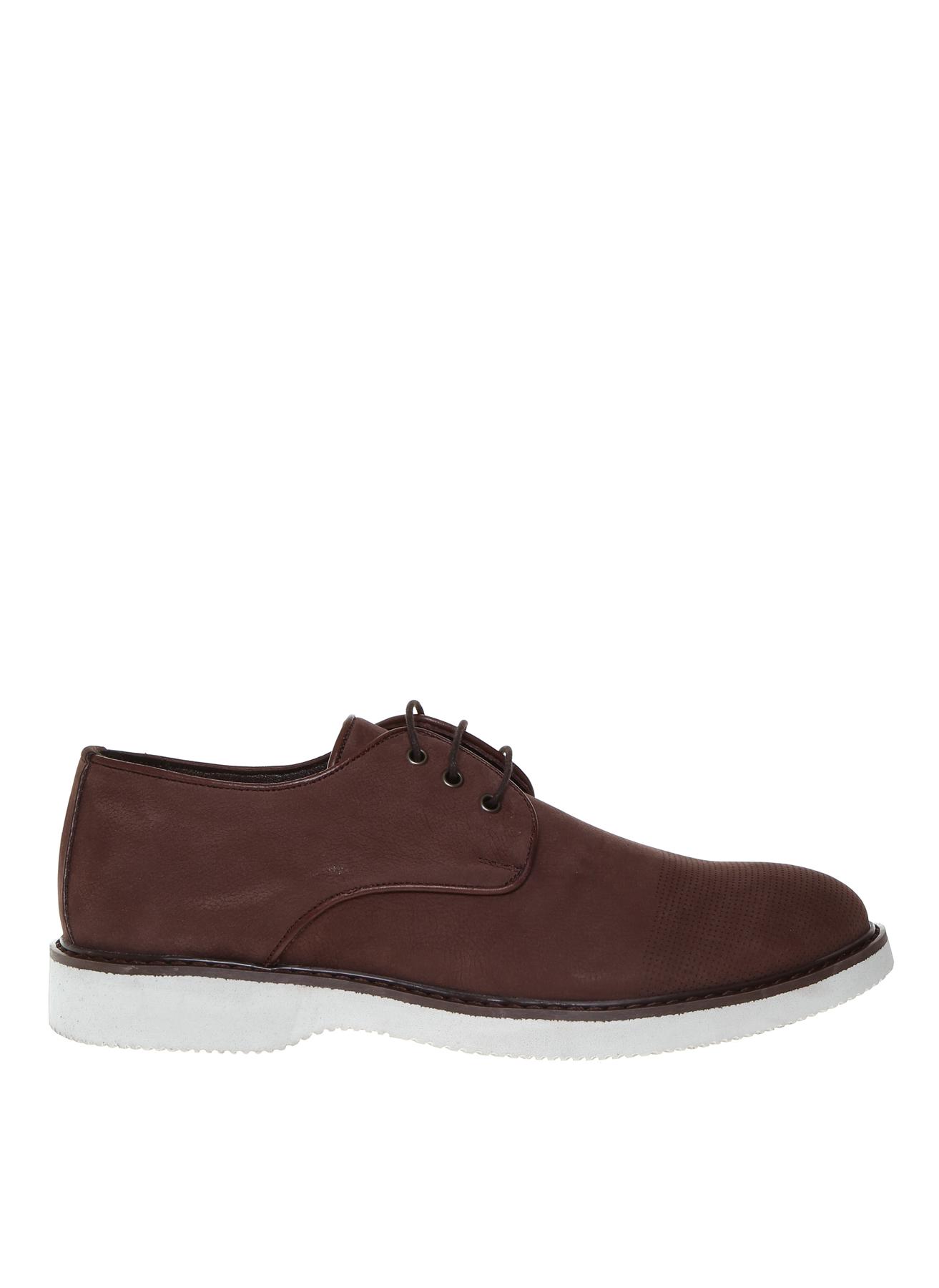 40 Kahve Fabrika Erkek Kahverengi Nubuk Klasik Ayakkabı 5001909948001 & Çanta