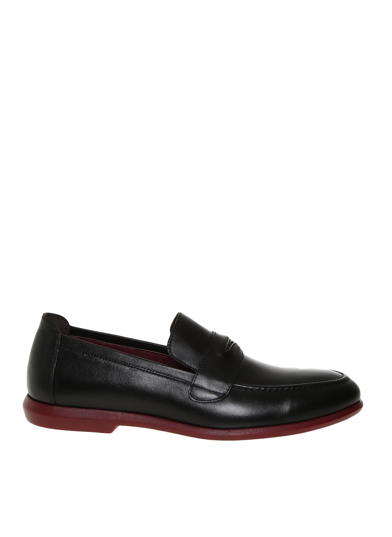 Cacharel Erkek Deri Siyah Klasik Ayakkabı 40 5001911368001 Ürün Resmi