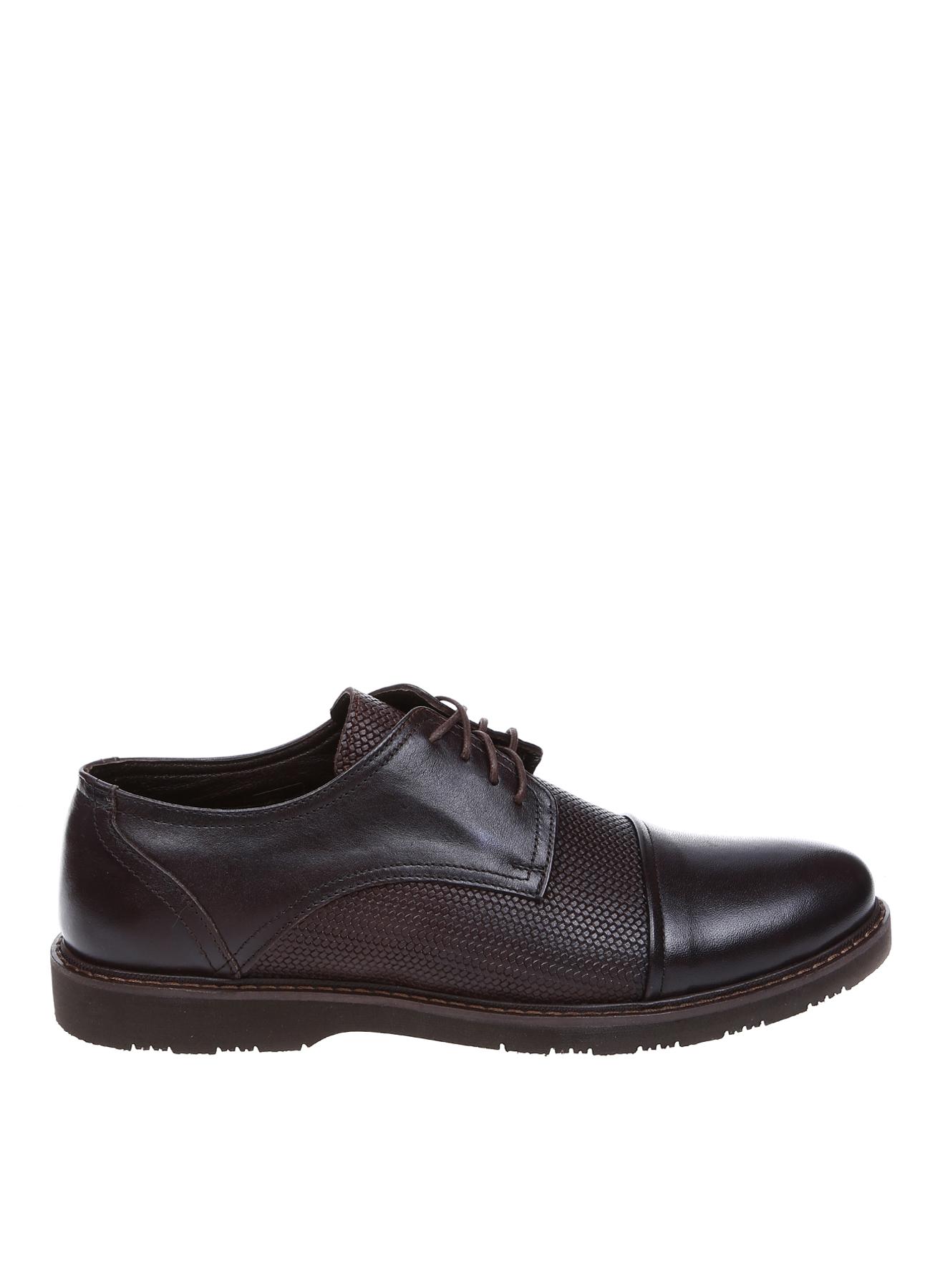 Cotton Bar Deri Kahve Klasik Ayakkabı 43 5001916490004 Ürün Resmi