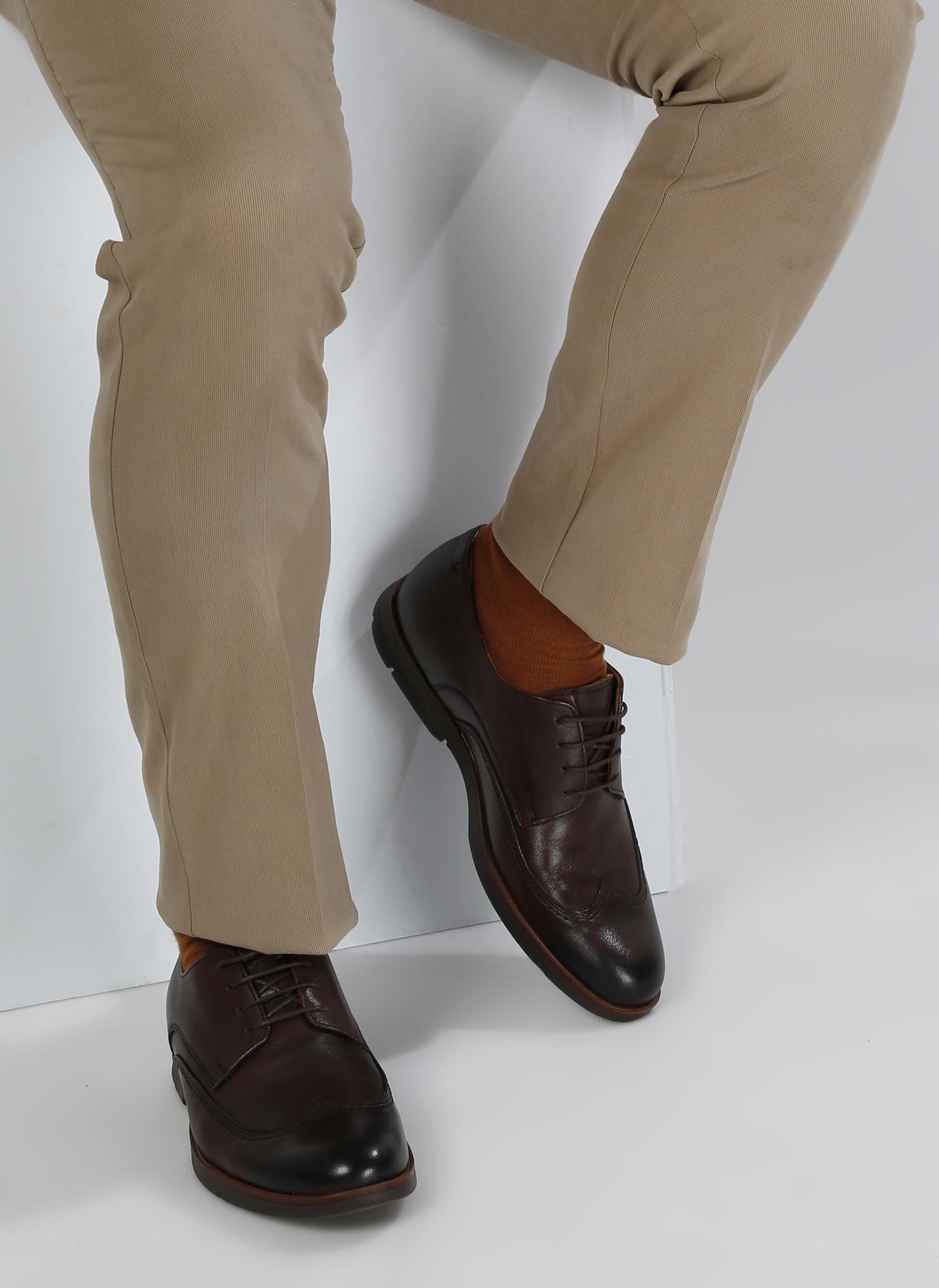Penford Deri Kahve Klasik Ayakkabı 40 5001916512001 Ürün Resmi