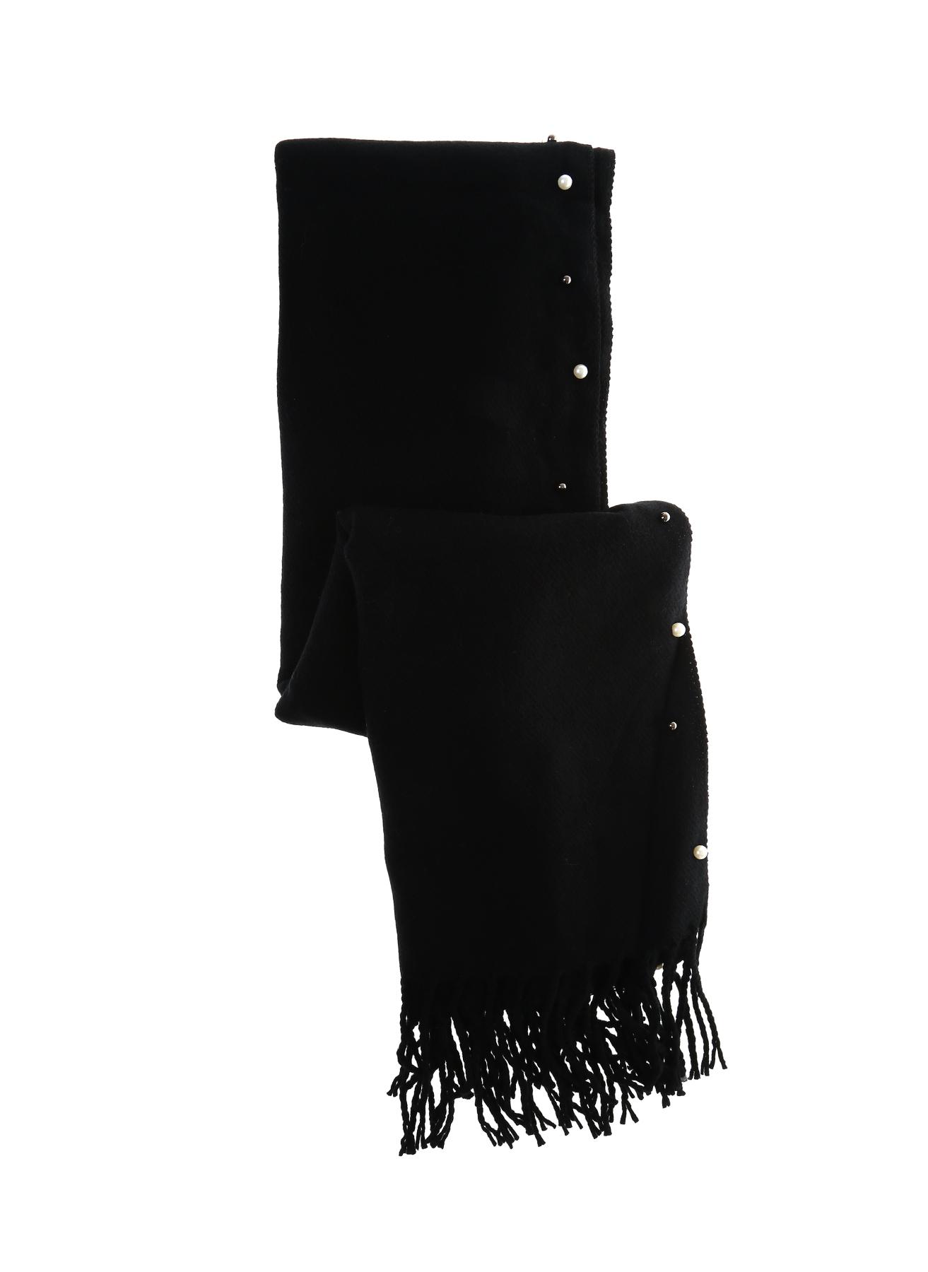Fashion Friends İncili Siyah Şal 5001917930001 Ürün Resmi