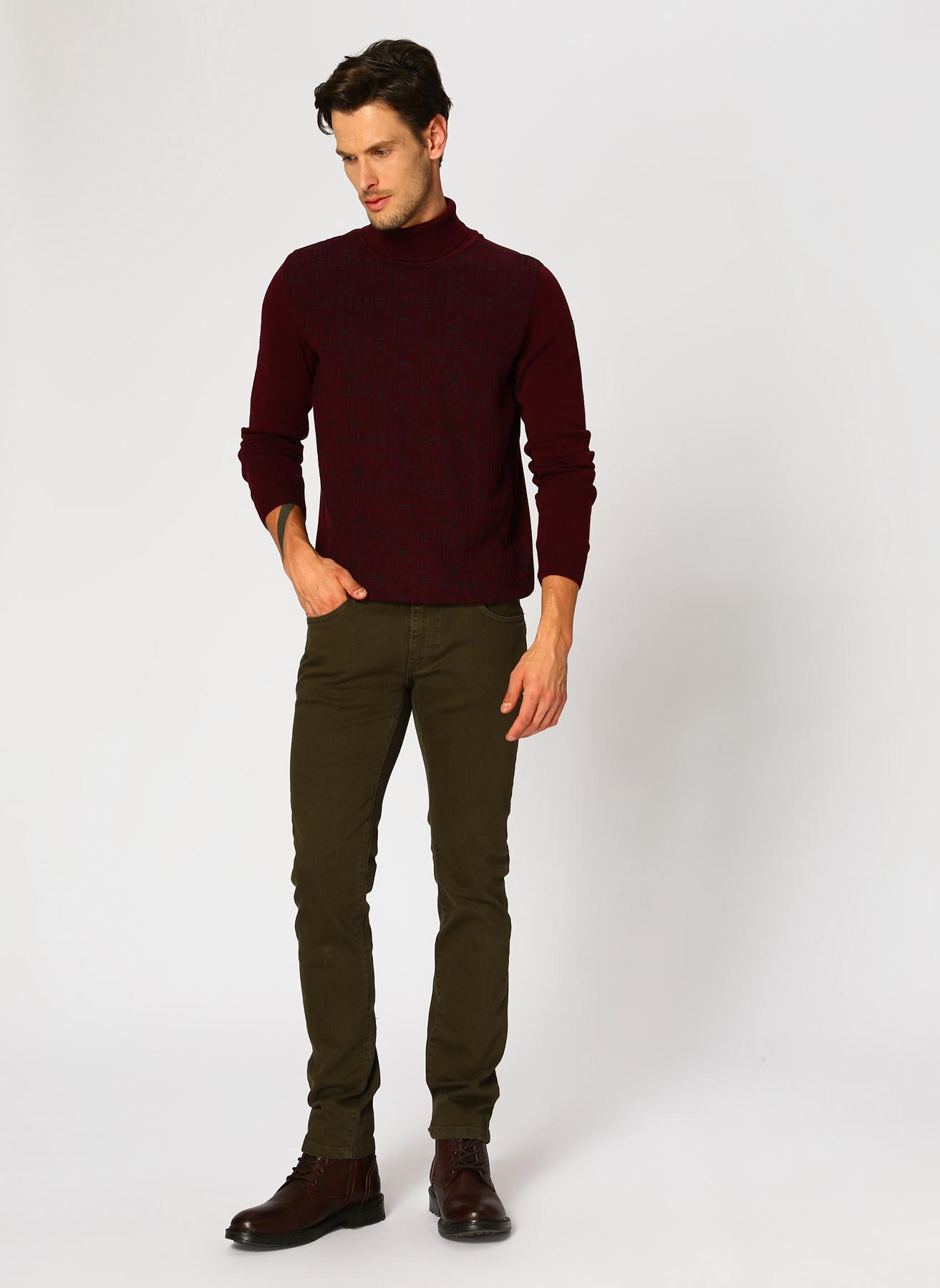 George Hogg Haki Klasik Pantolon 5001918296001 Ürün Resmi