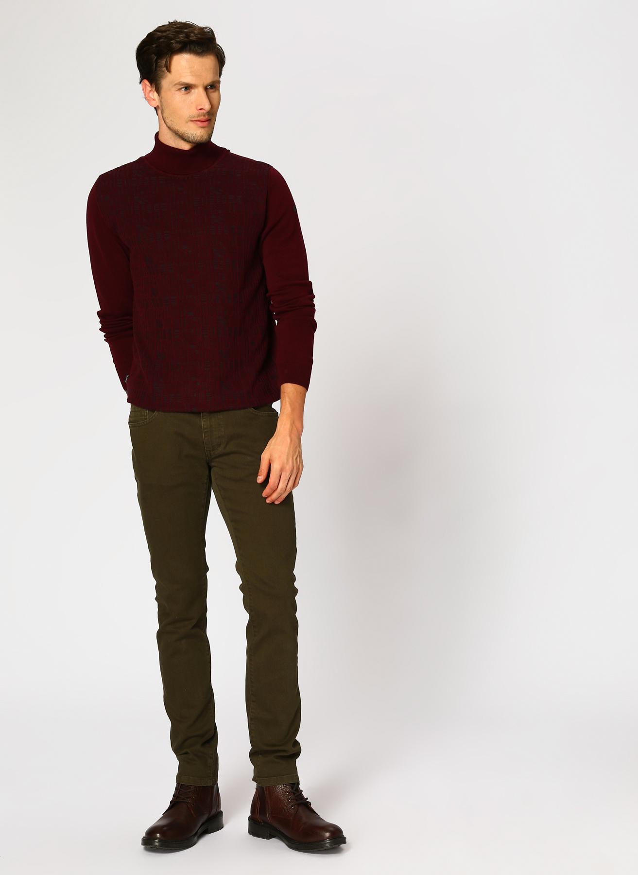 George Hogg Haki Klasik Pantolon 5001918298001 Ürün Resmi