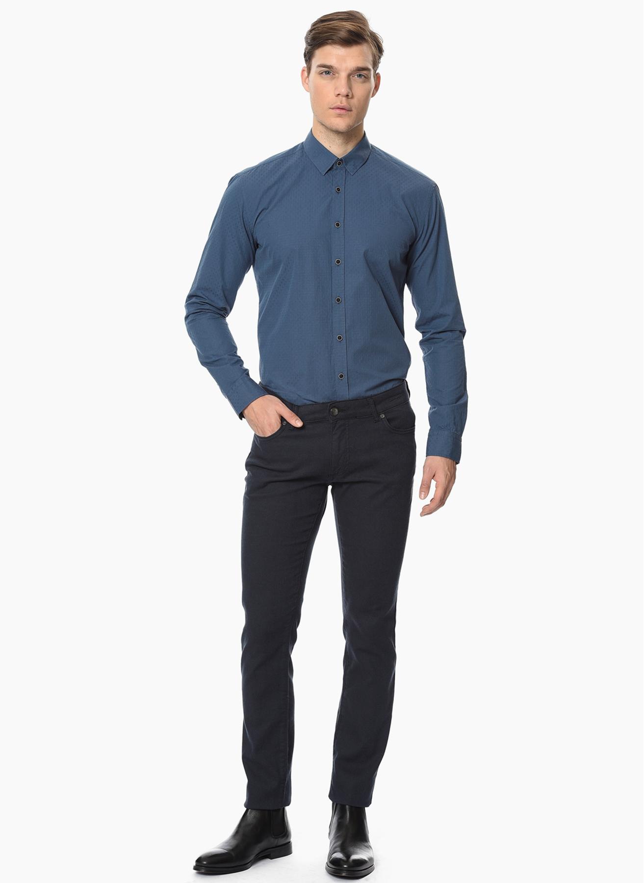 George Hogg Koyu Lacivert Klasik Pantolon 30 5001918352001 Ürün Resmi