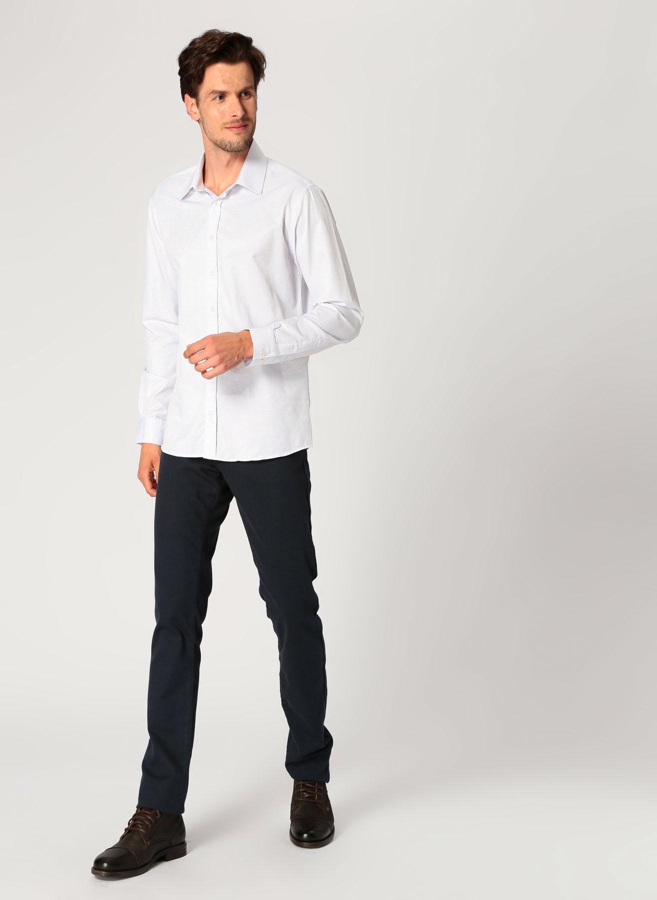 George Hogg Koyu Lacivert Klasik Pantolon 5001918354001 Ürün Resmi