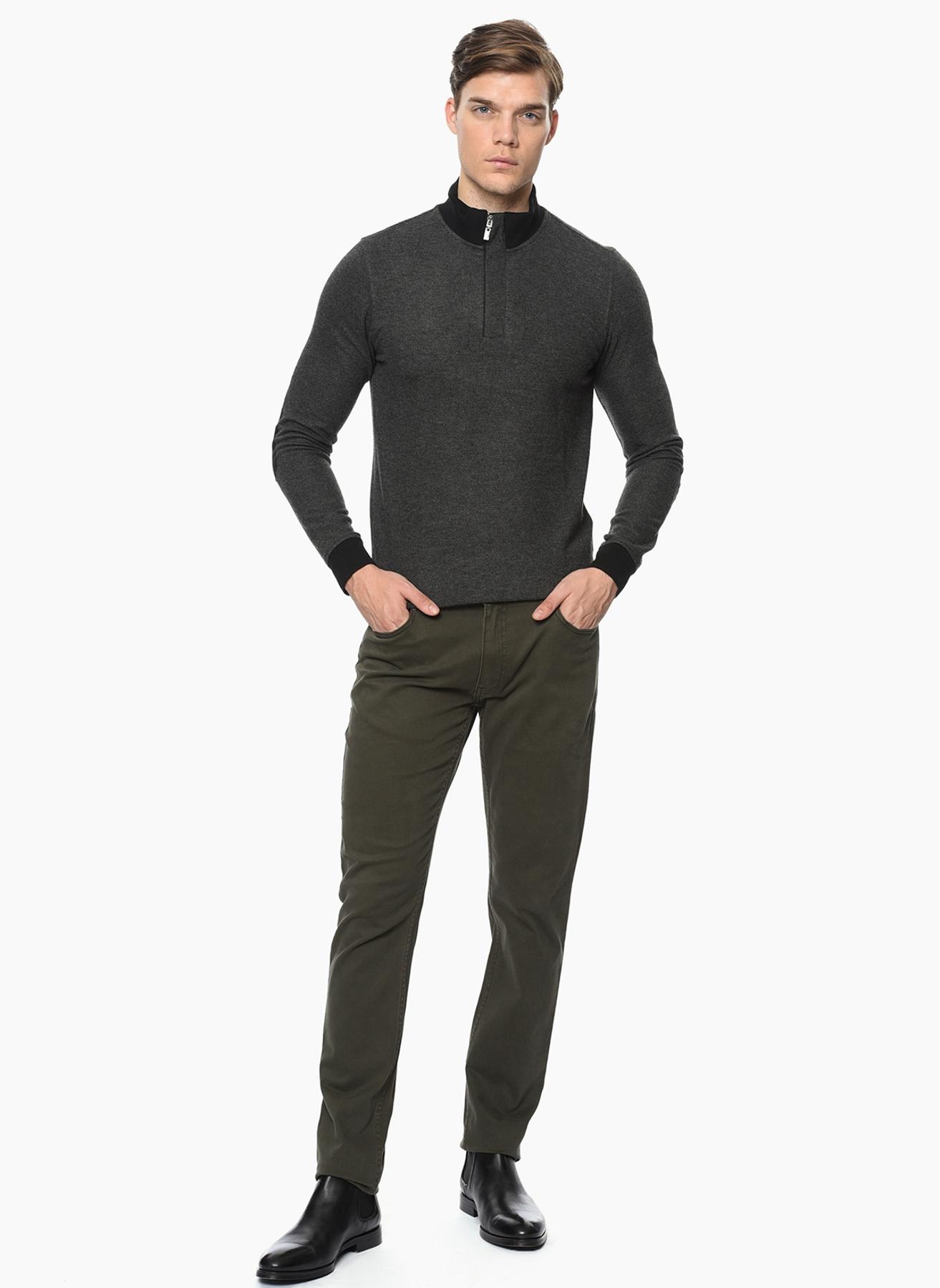 George Hogg Haki Klasik Pantolon 34 5001918358004 Ürün Resmi