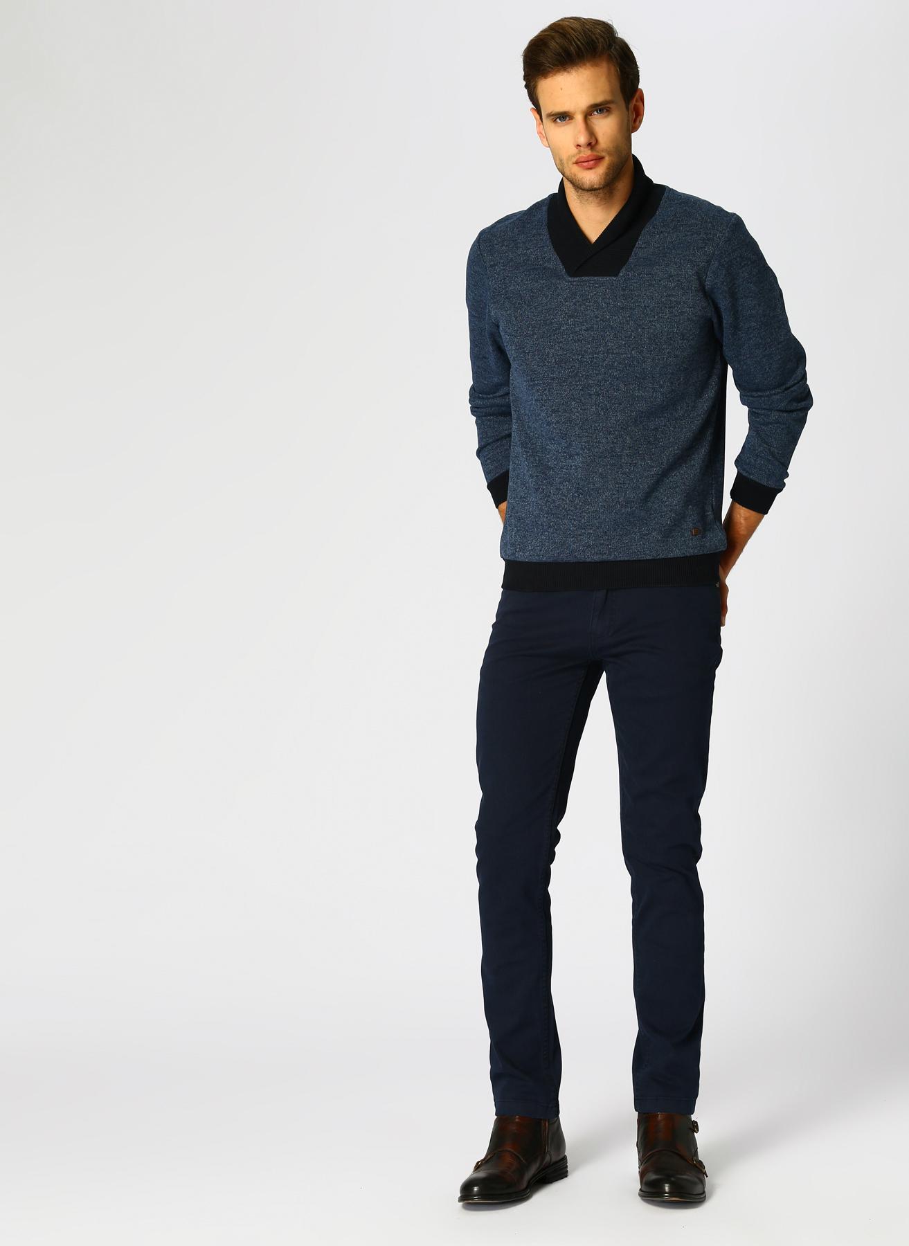 George Hogg Lacivert Klasik Pantolon 36 5001918360005 Ürün Resmi