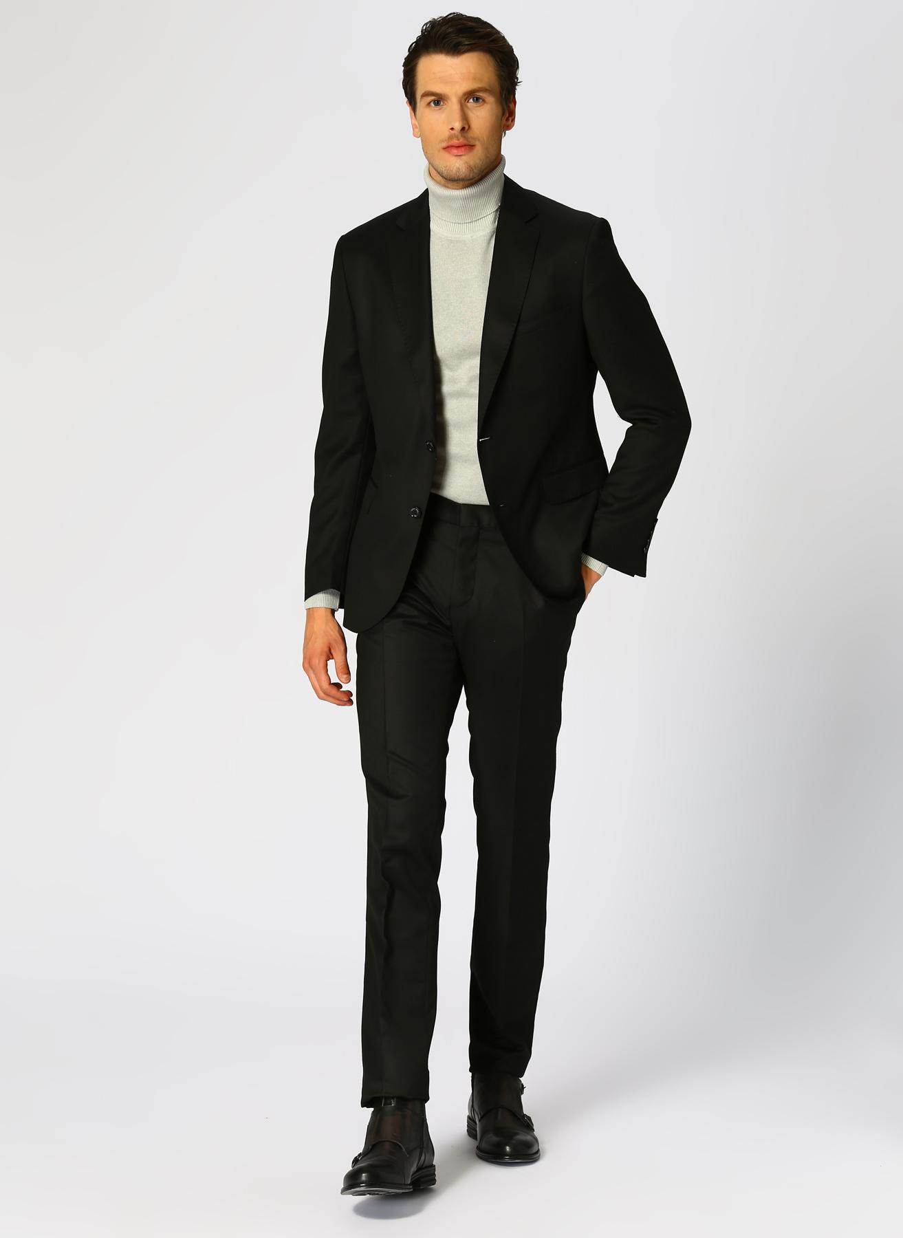 George Hogg Yün Siyah Takım Elbise L 5001920786001 Ürün Resmi