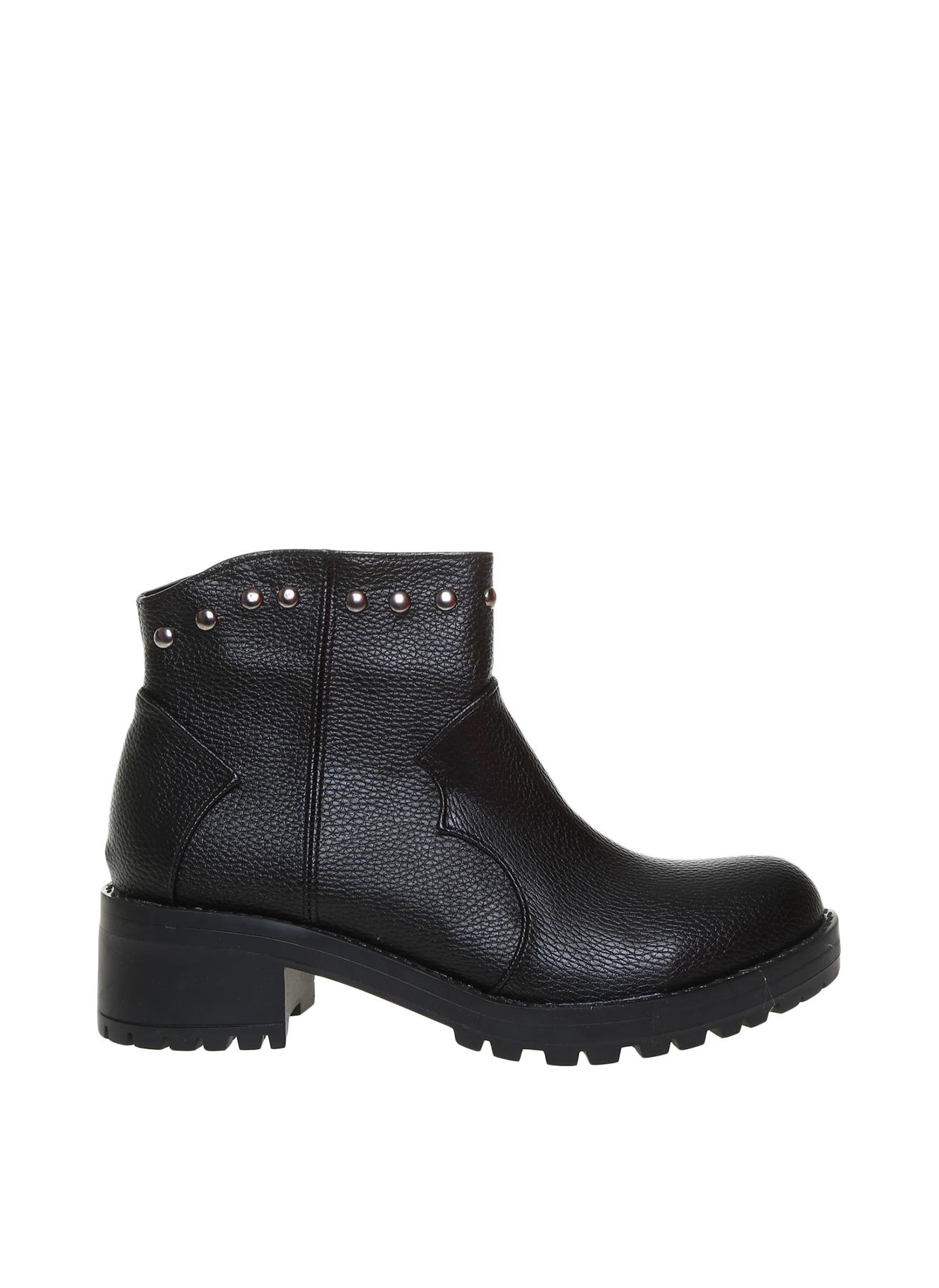 Pierre Cardin Kadın Dolgu Topuklu Siyah Bot 39 5001920864004 Ürün Resmi