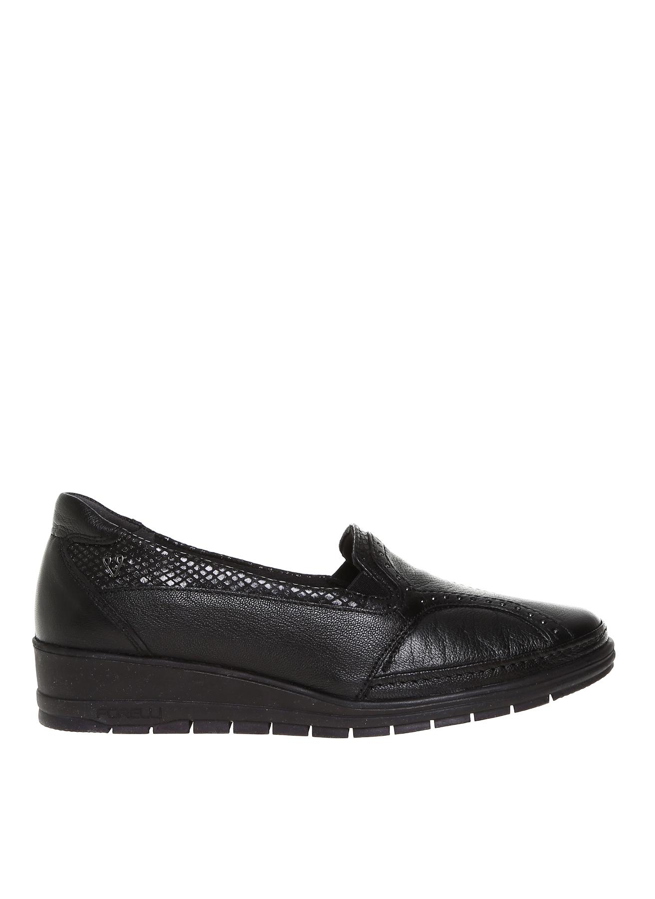 Forelli Siyah Düz Ayakkabı 36 5001921030001 Ürün Resmi