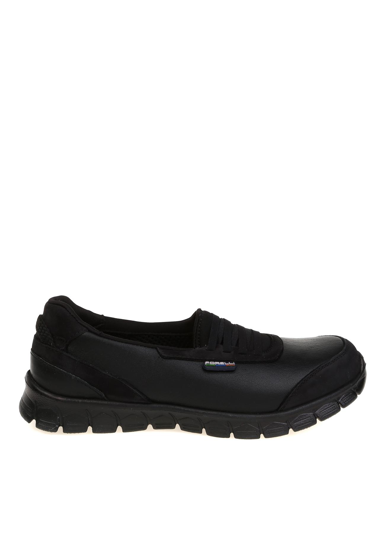 Forelli Deri Siyah Düz Ayakkabı 37 5001921039002 Ürün Resmi