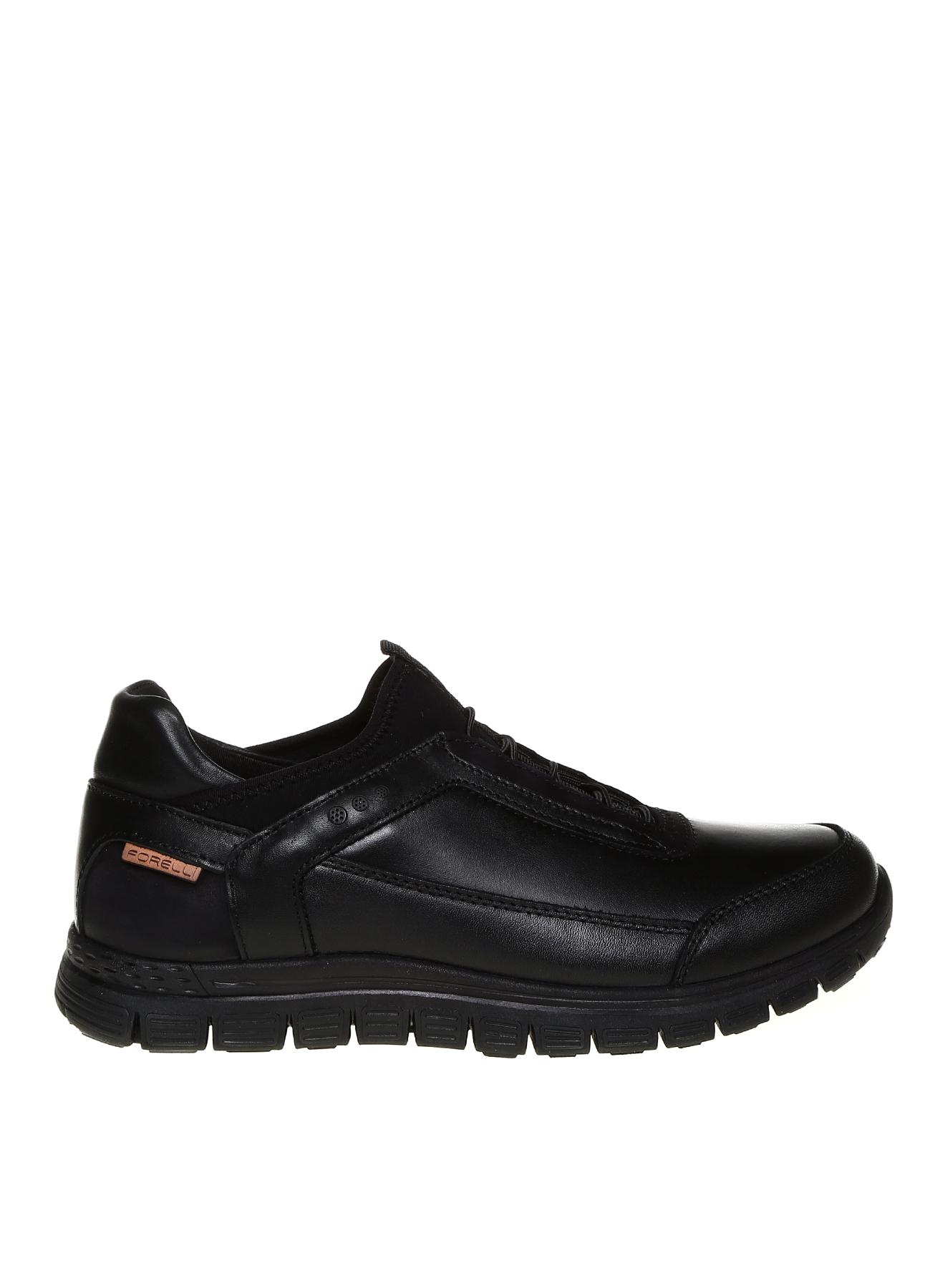 Forelli Deri Ultra Hafif Siyah Klasik Ayakkabı 43 5001922234004 Ürün Resmi
