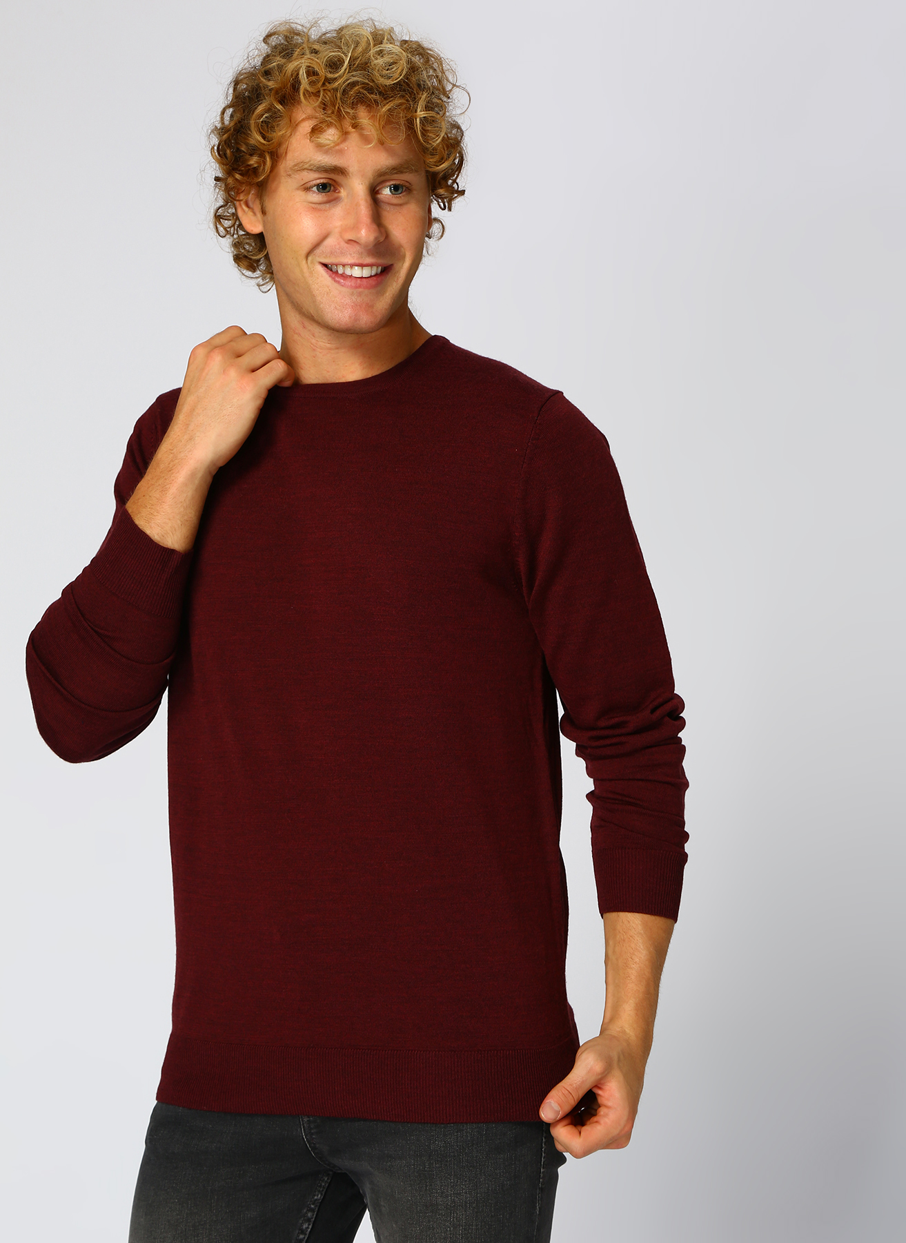Jack & Jones Mark Knit Kazak S 5001947225003 Ürün Resmi