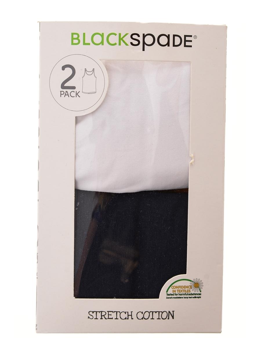 128 cm Çok Renkli Blackspade 2'li Erkek Çocuk İç Giyim Atlet 5001955006004 Ev & &Fanila