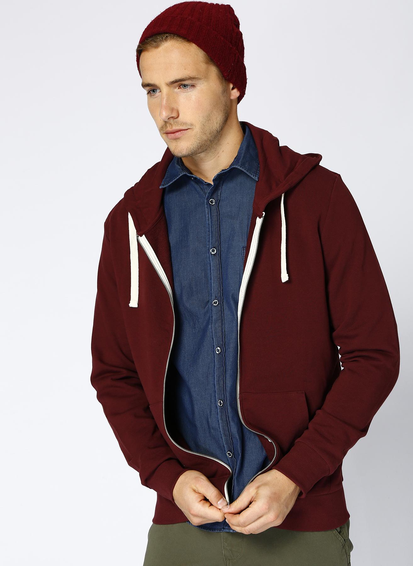 Jack & Jones Holmen Sweat Zip Hood Sweatshirt XS 5001974272005 Ürün Resmi