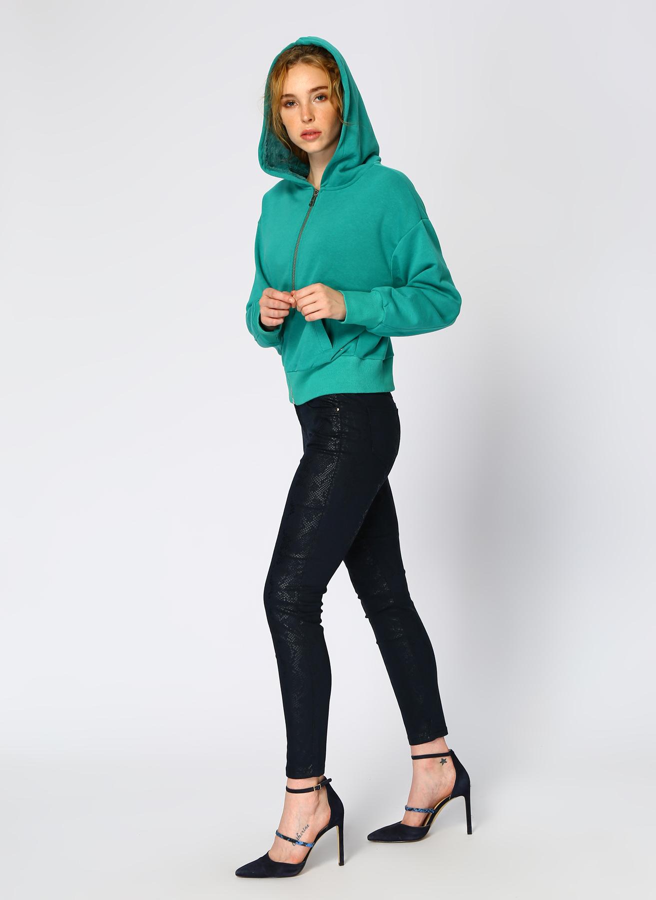 Loft Yeşil Sweatshirt XS 5001976664005 Ürün Resmi