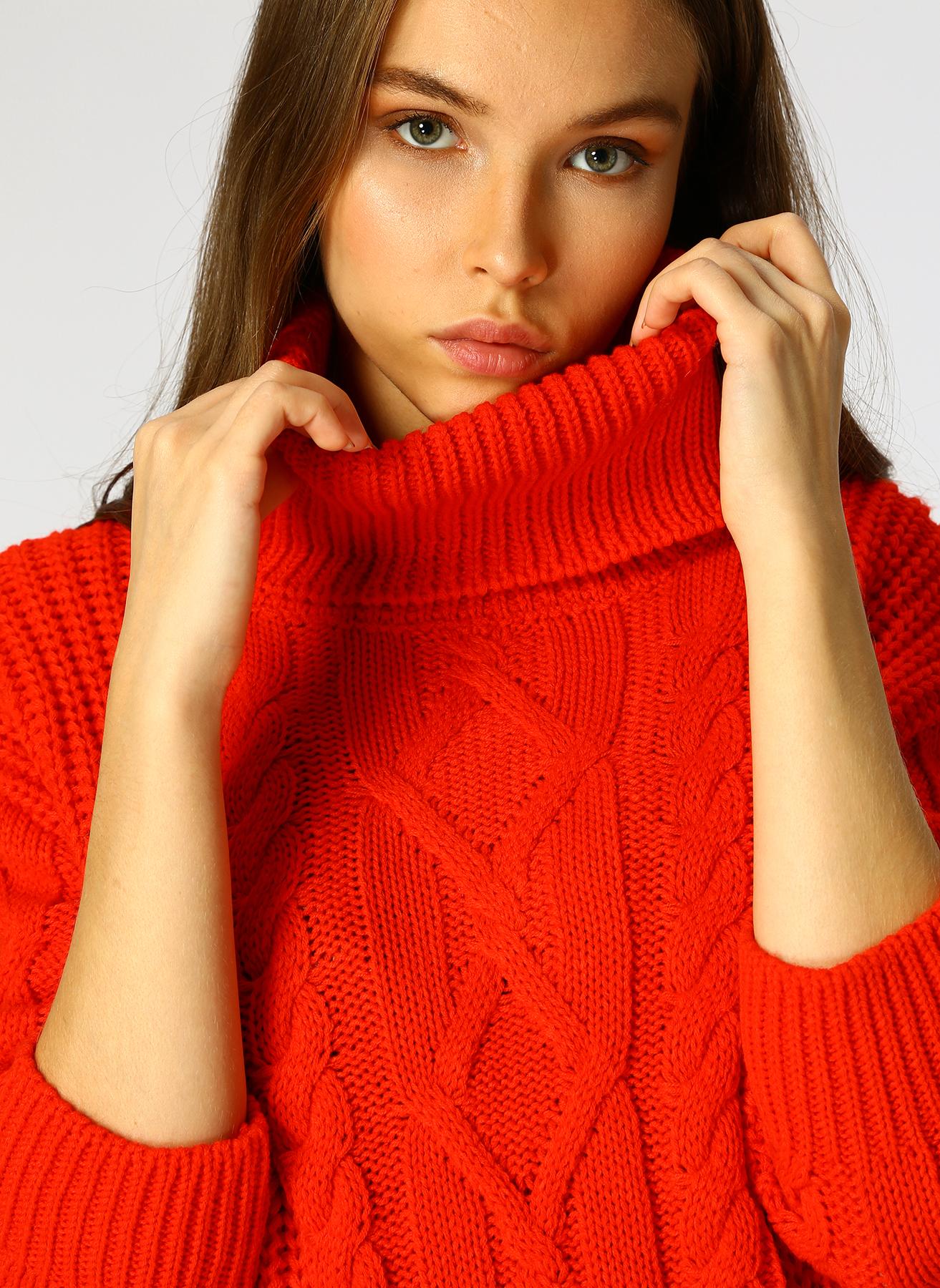 Loft Kırmızı Kazak S 5001976799003 Ürün Resmi